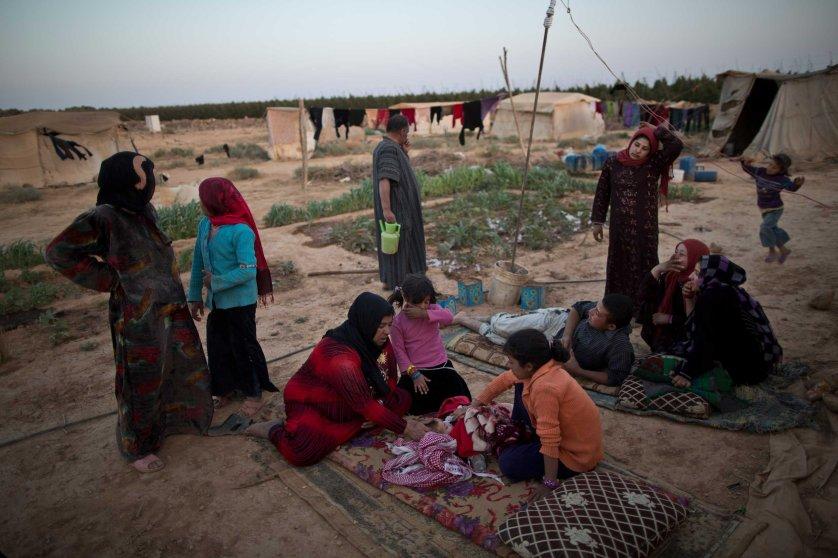 Syrian refugee children Jordan