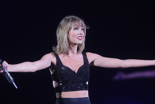 Taylor Swift performs during her  The 1989 World Tour  at Levi's Stadium on August 14, 2015 in Santa Clara, California.