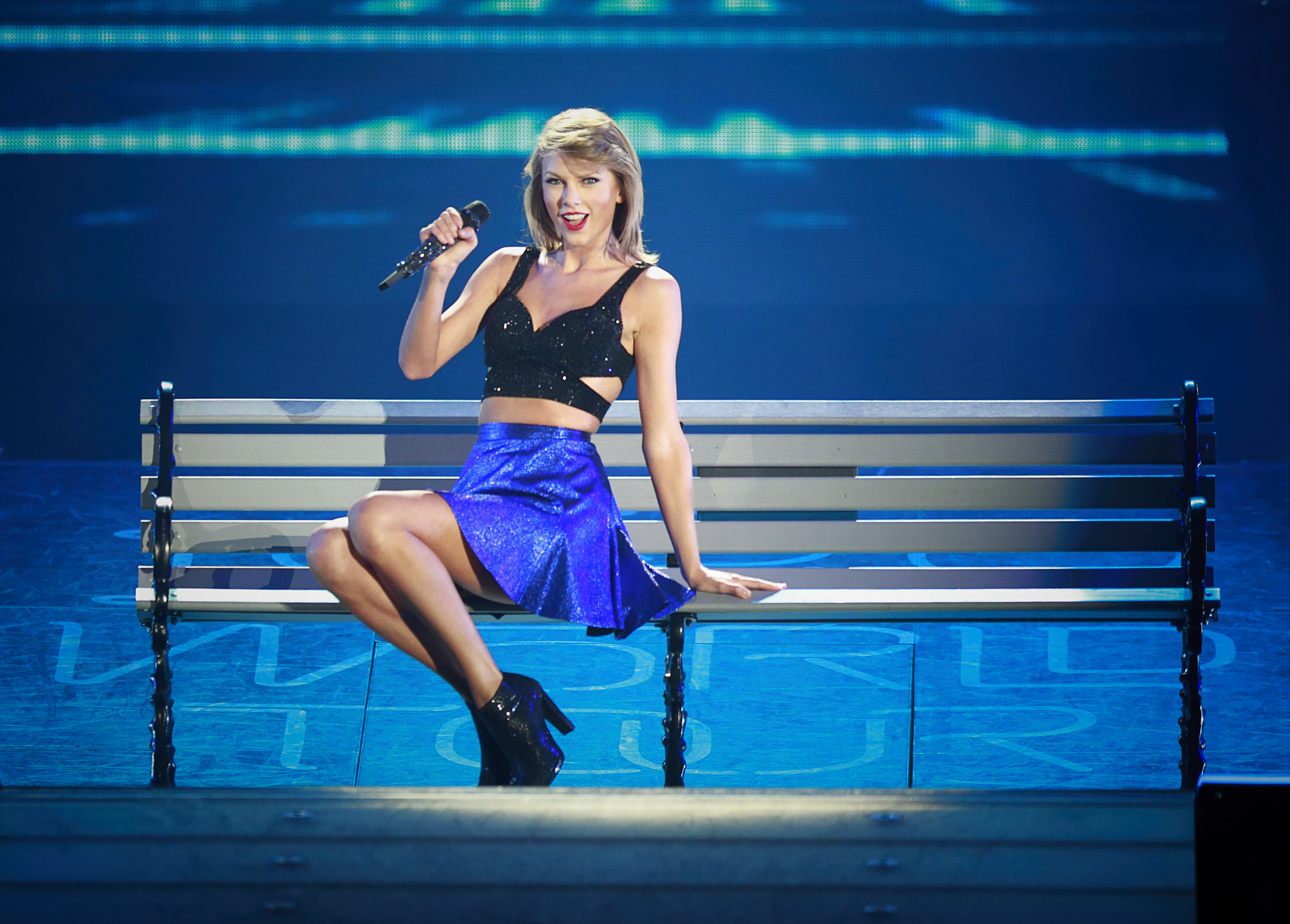 Taylor Swift performs during The 1989 World Tour Live at BC Place Stadium August 1, 2015 in Vancouver, British Columbia, Canada.