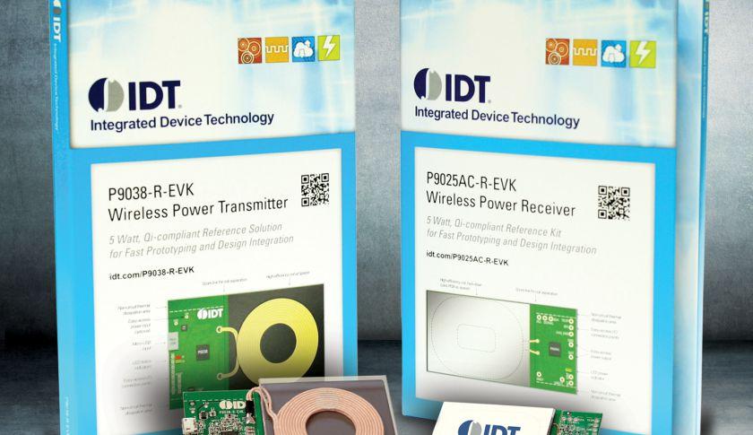 IDT's wireless-charging kit.