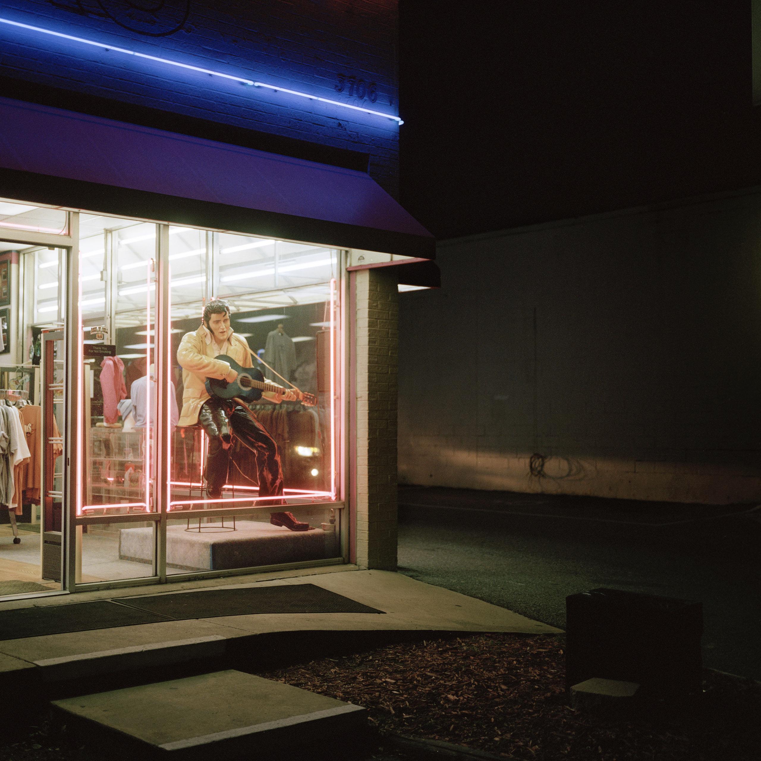 Souvenir shop, Elvis Presley Boulevard, Memphis, 2014.
