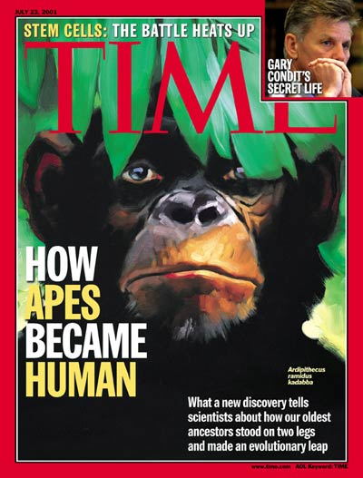 The July 23, 2001, cover of TIME
