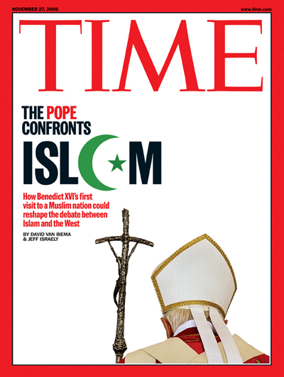 Pope Benedict XVI on the Nov. 27, 2006, cover of TIME