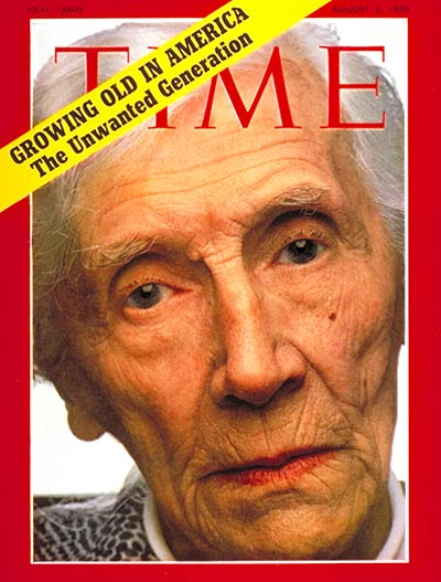 The Aug. 3, 1970, cover of TIME