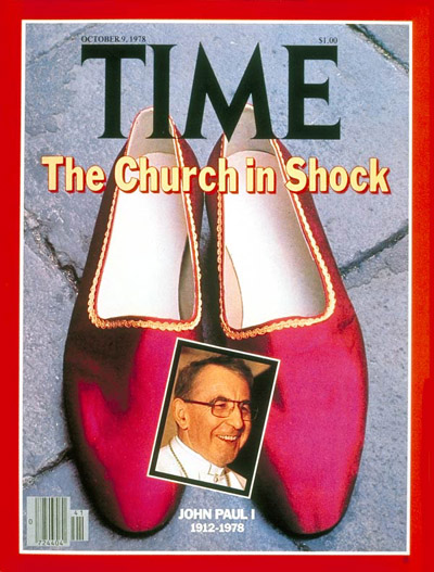 Pope John Paul I on the Oct. 9, 1978, cover of TIME
