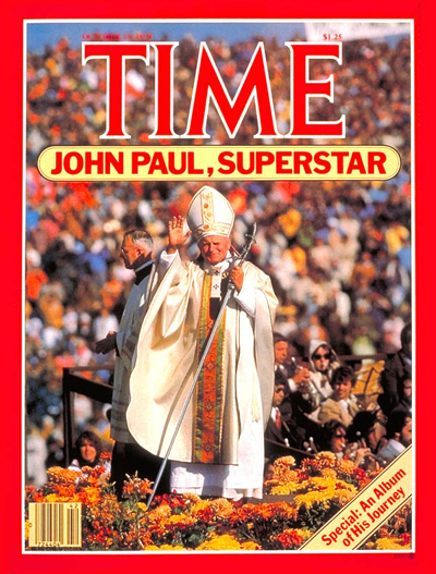 Pope John Paul II on the Oct. 15, 1979, cover of TIME