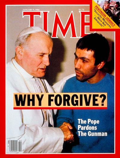 Pope John Paul II on the Jan. 9, 1984, cover of TIME