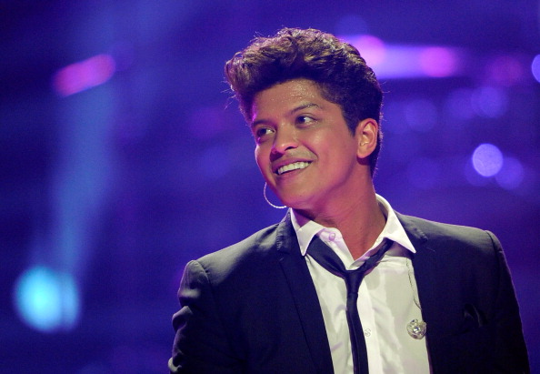 Recording artist Bruno Mars performs at the iHeartRadio Music Festival at the MGM Grand Garden Arena in Las Vegas, Sept. 23, 2011.