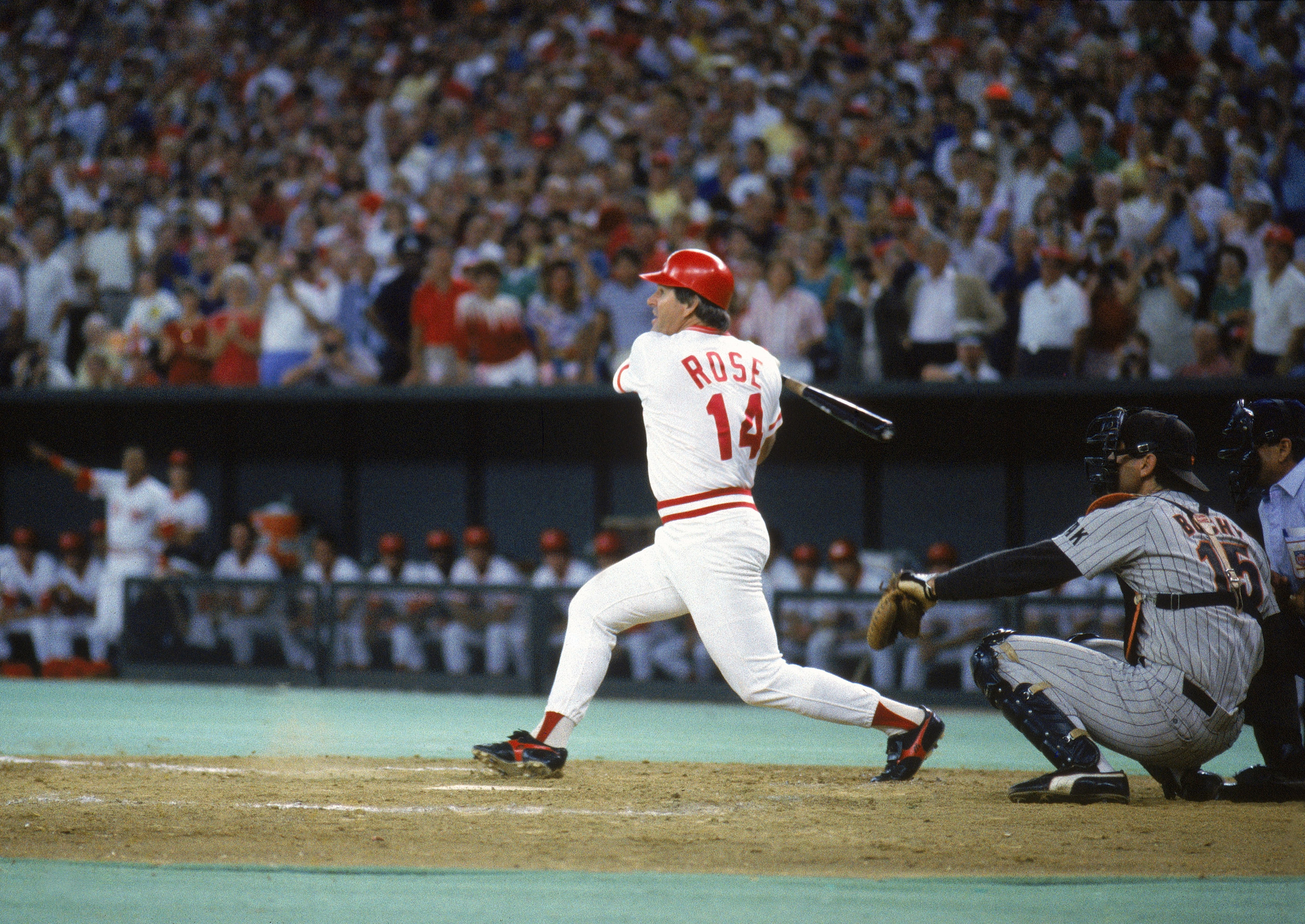 Pete Rose Breaks Baseball's All-Time Hit Record: See Photos | Time