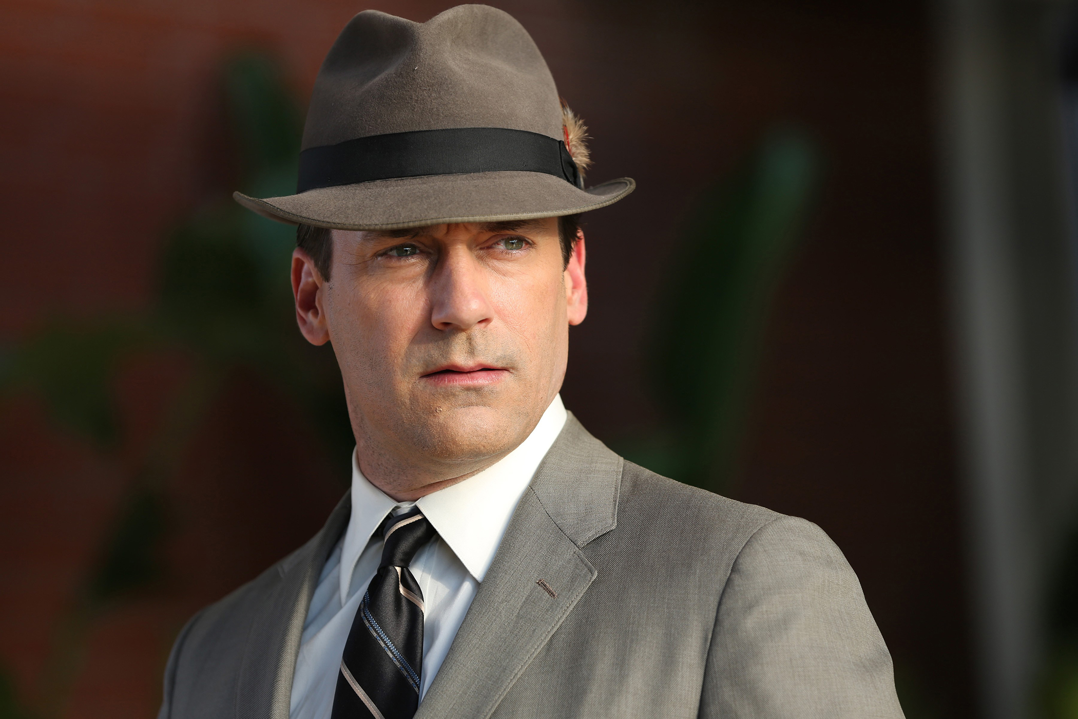 Jon Hamm as Don Draper in  Mad Men  on AMC