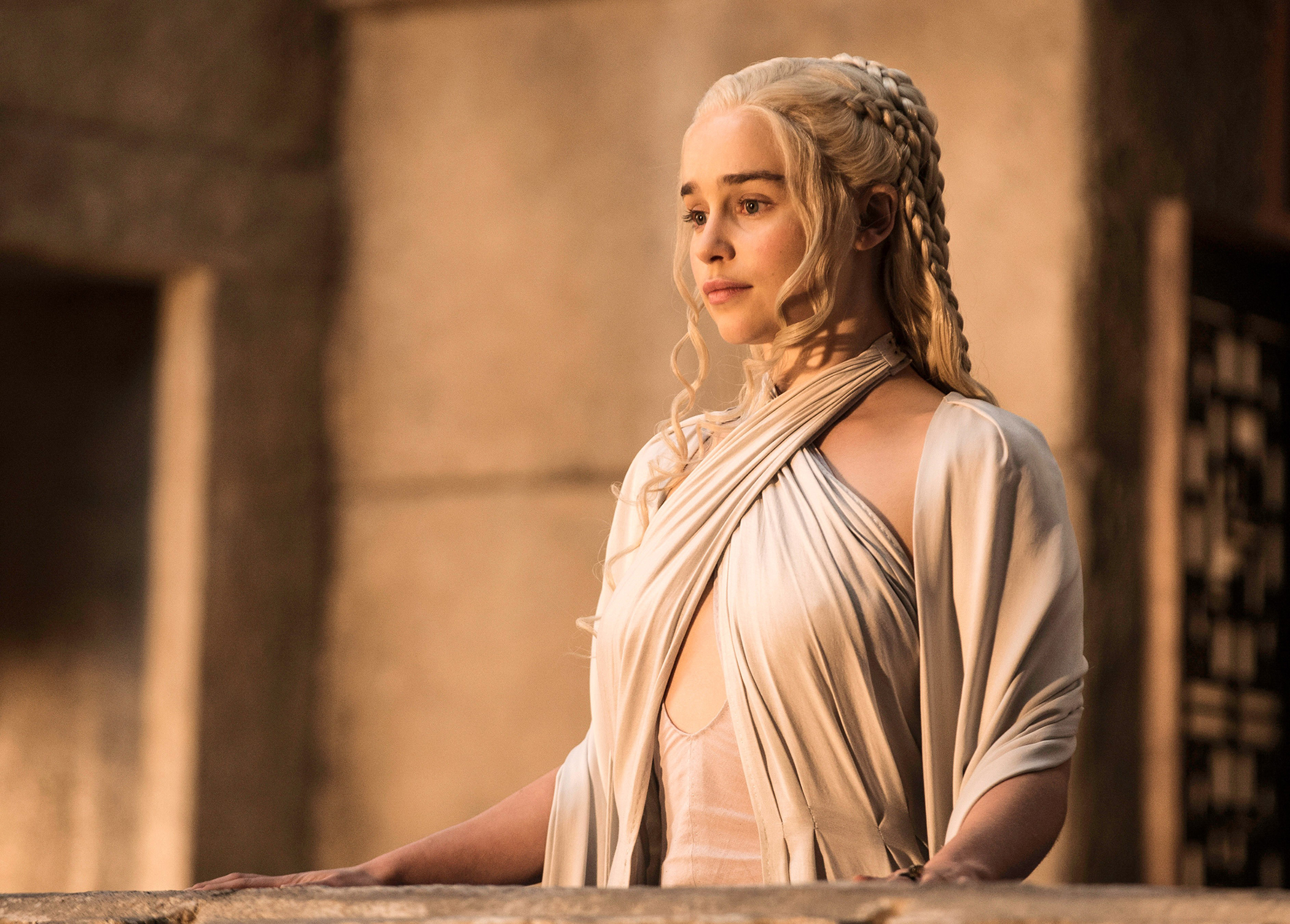 "Emilia Clarke in ""Game of Thrones"" on HBO"