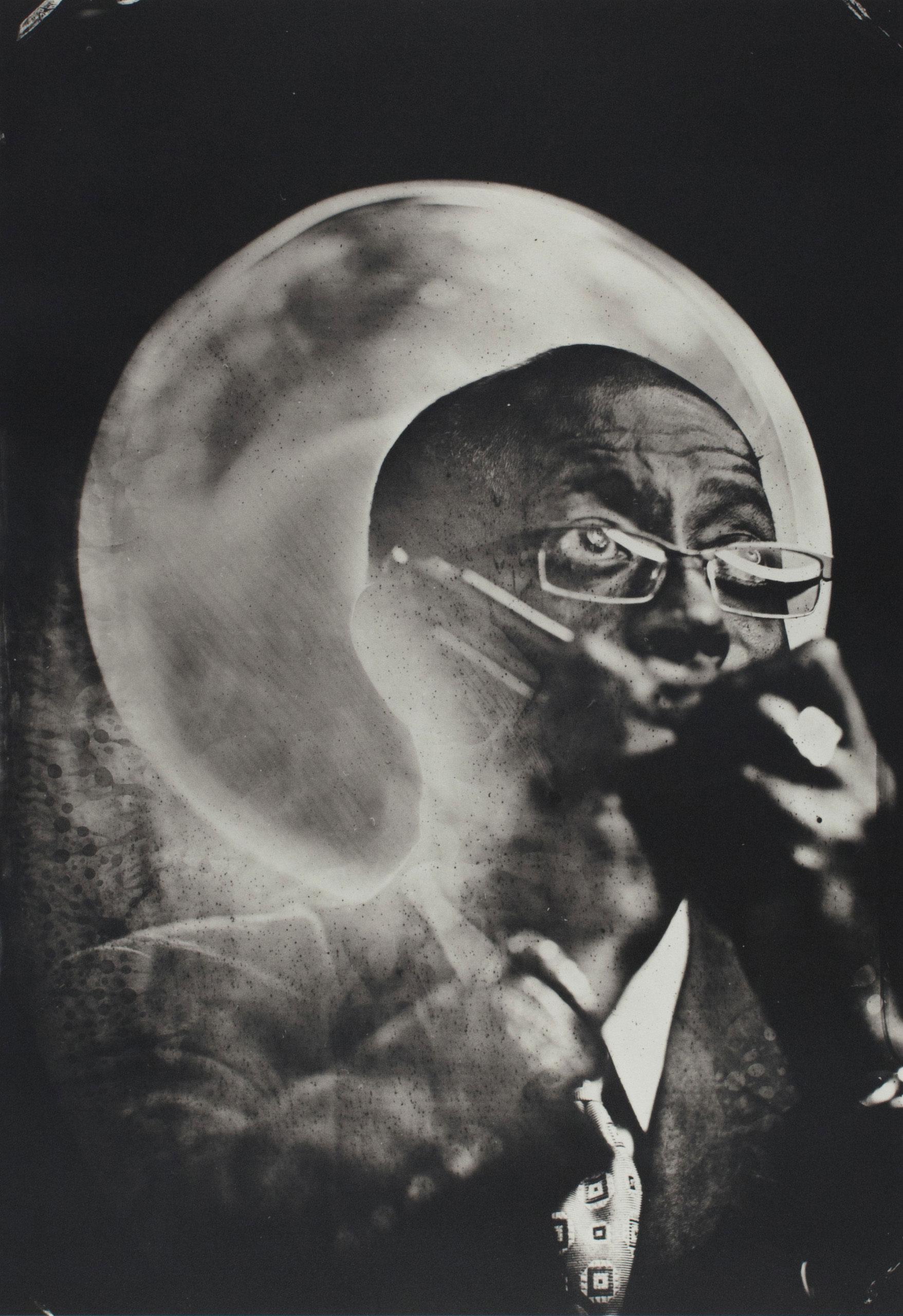 Dr. Dixon, Blues Harp, Atlanta, GA 2014. Platinum print.