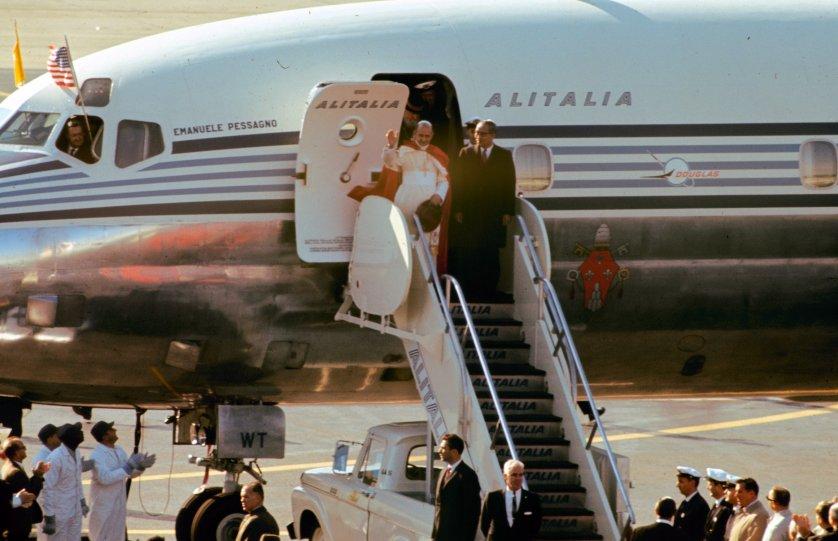 Pope Paul VI New York 1965
