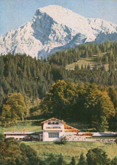 Heinrich Hoffmann, postcard of the Berghof, 1936.