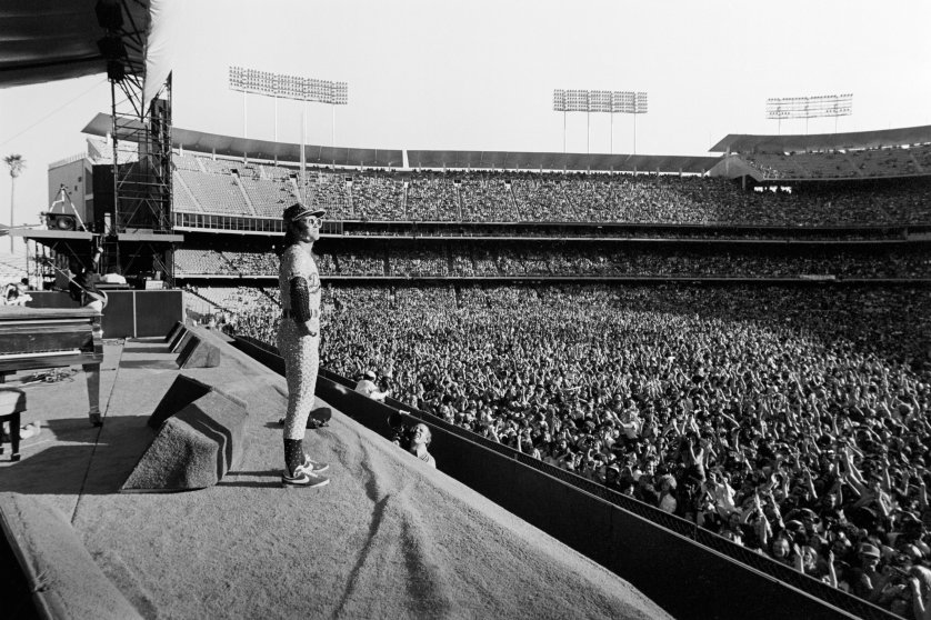 Both shows were an instant sell-out, 110,000 rock fans descended upon Dodger Stadium to witness music magic.
