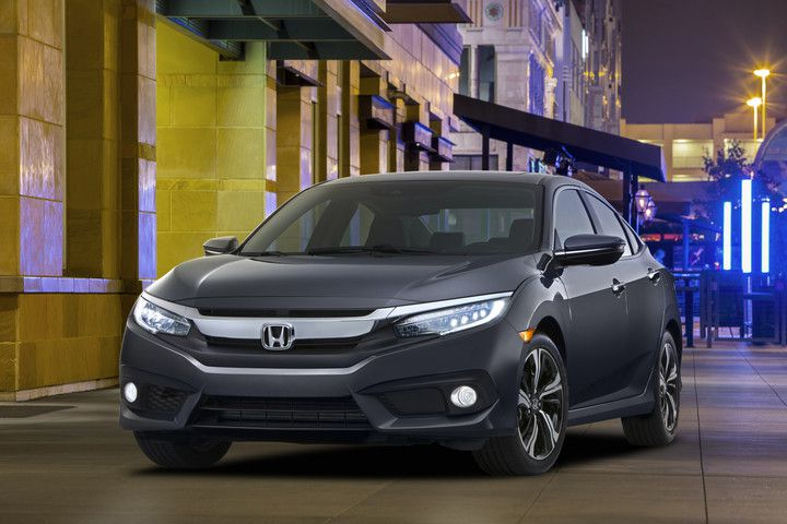 Honda's new 2016 Civic with a sportier appeal.