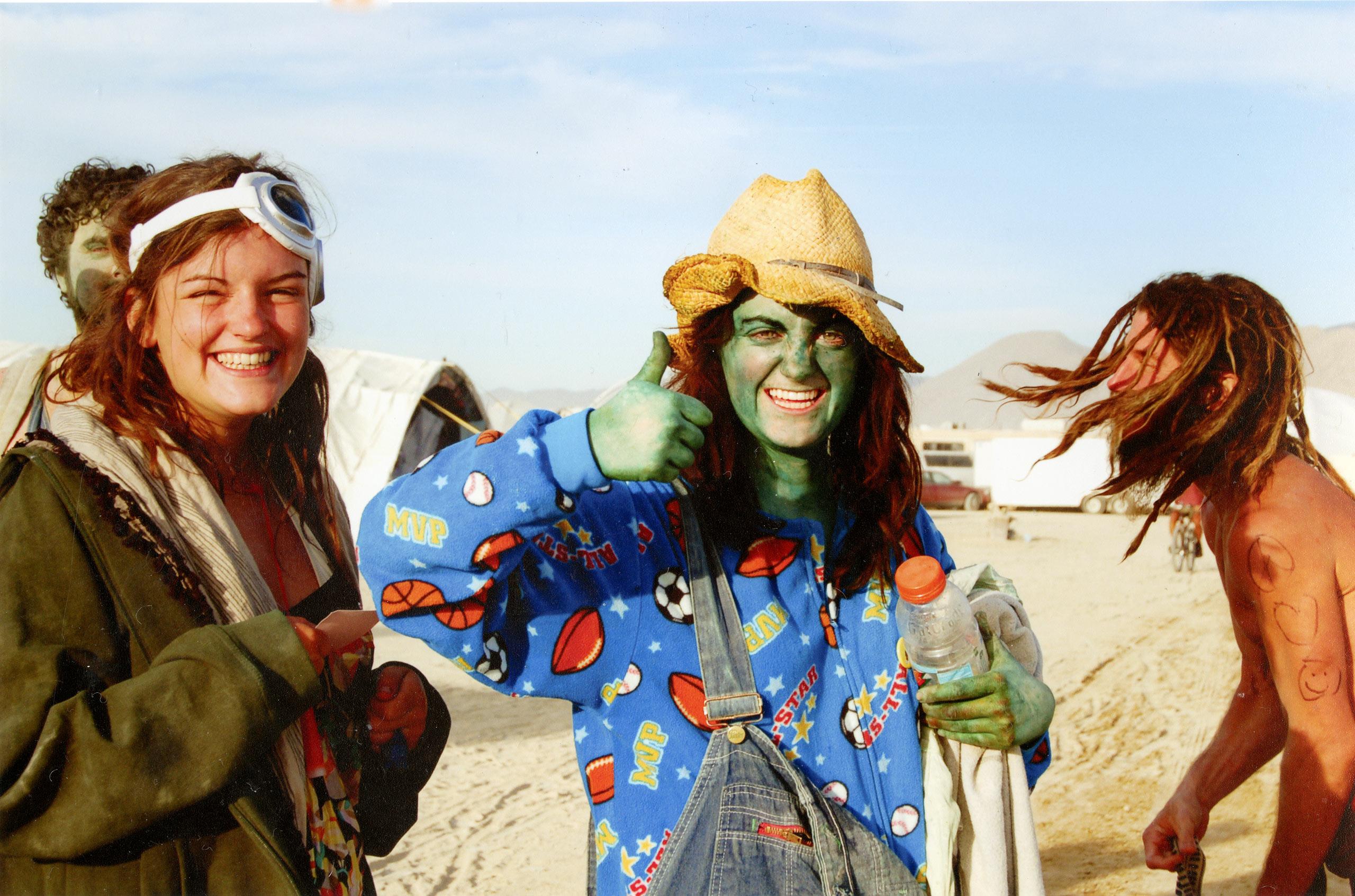 Burning Man, Nevada.
