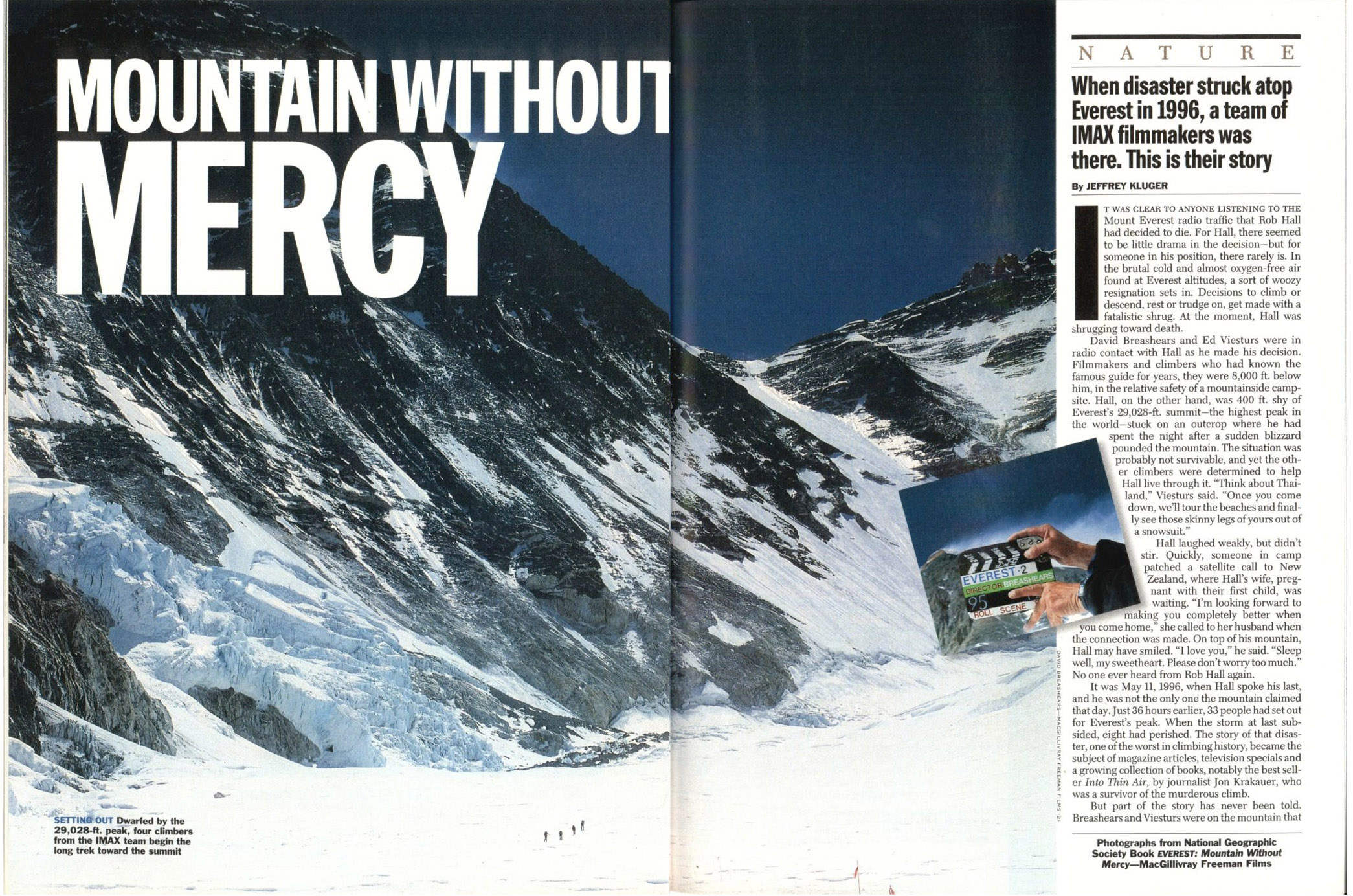 A spread from the Oct. 20, 1997, issue of TIME