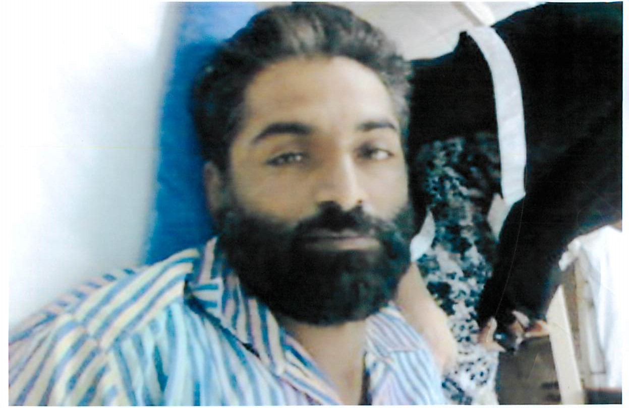 An undated photo of Pakistani death-row inmate Abdul Basit