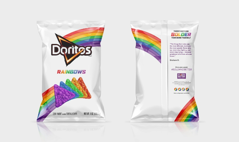Doritos Rainbow Chips For Lgbt Pride It Gets Better Project Time