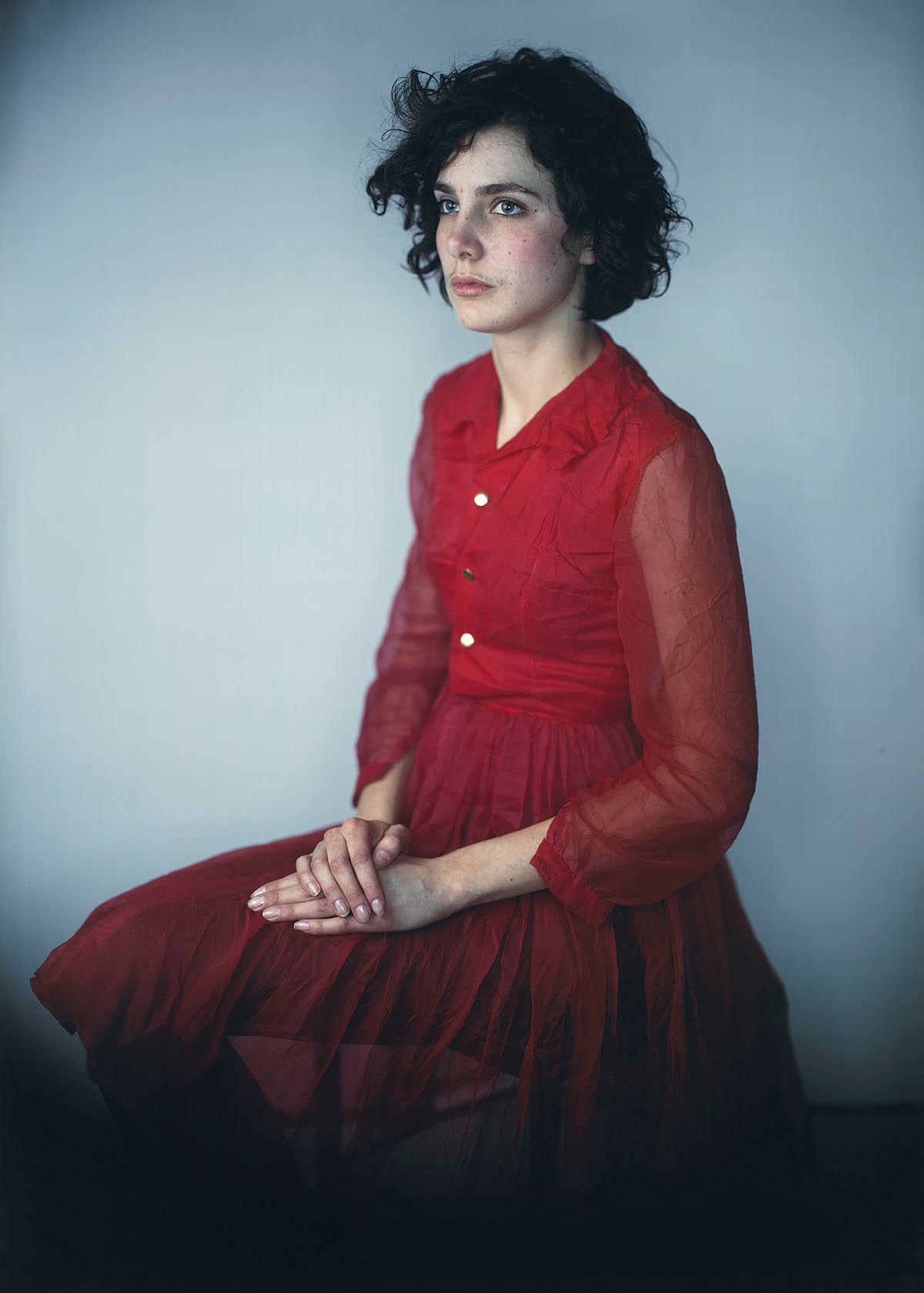 Agnes in Red Dress, 2008.