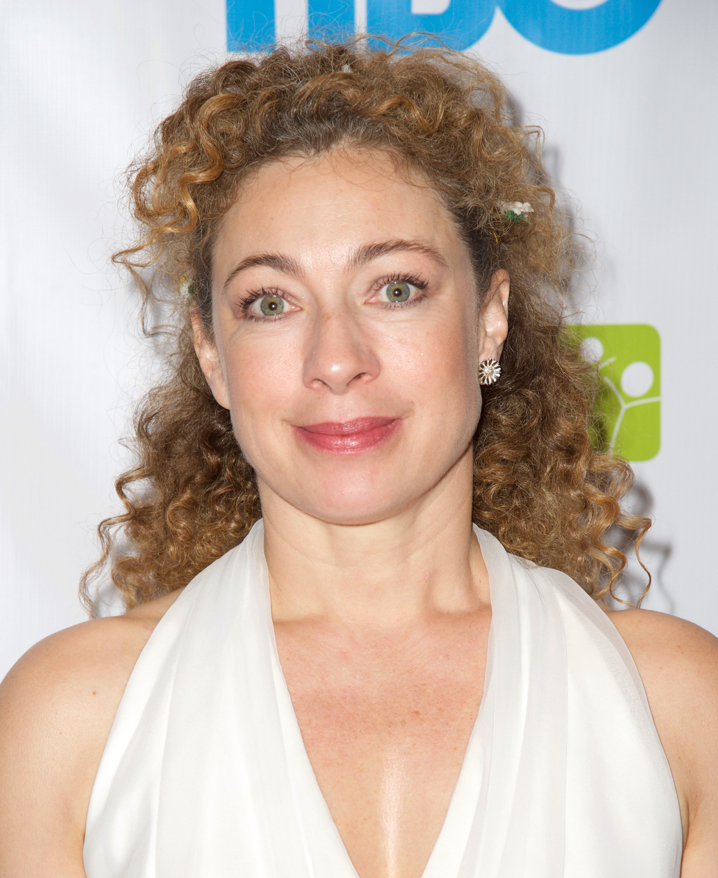 Alex Kingston at the Raise A Child 3rd Annual Honors Gala in Hollywood on April 26, 2015.