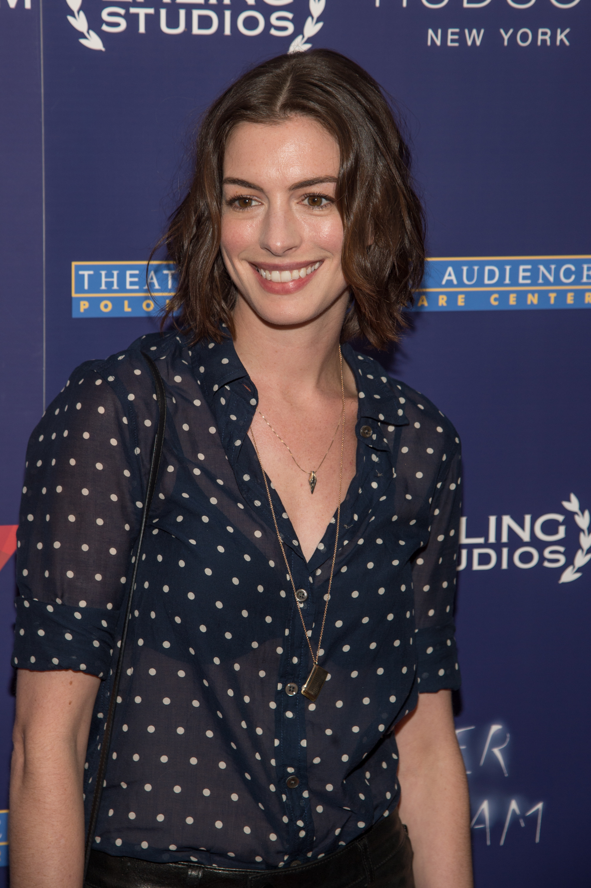 Anne Hathaway on June 15, 2015 in New York City.