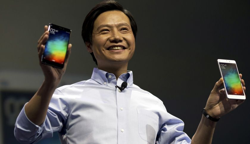 Lei Jun, chairman of Chinese smartphone maker Xiaomi.