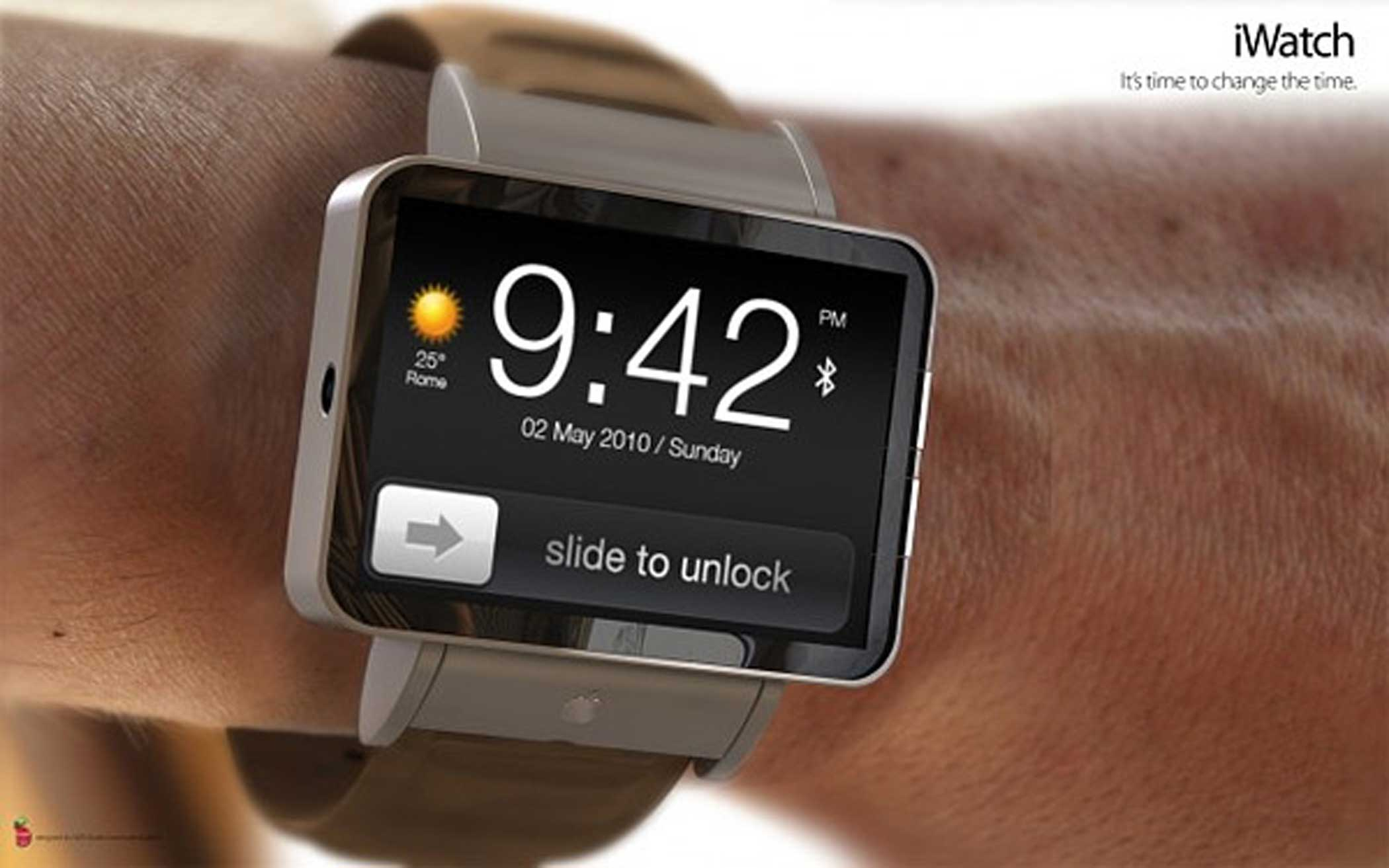 2010: iWatch Wristwatch Five years before the release of the Apple Watch, this concept put a modified iPhone display on a watch band.