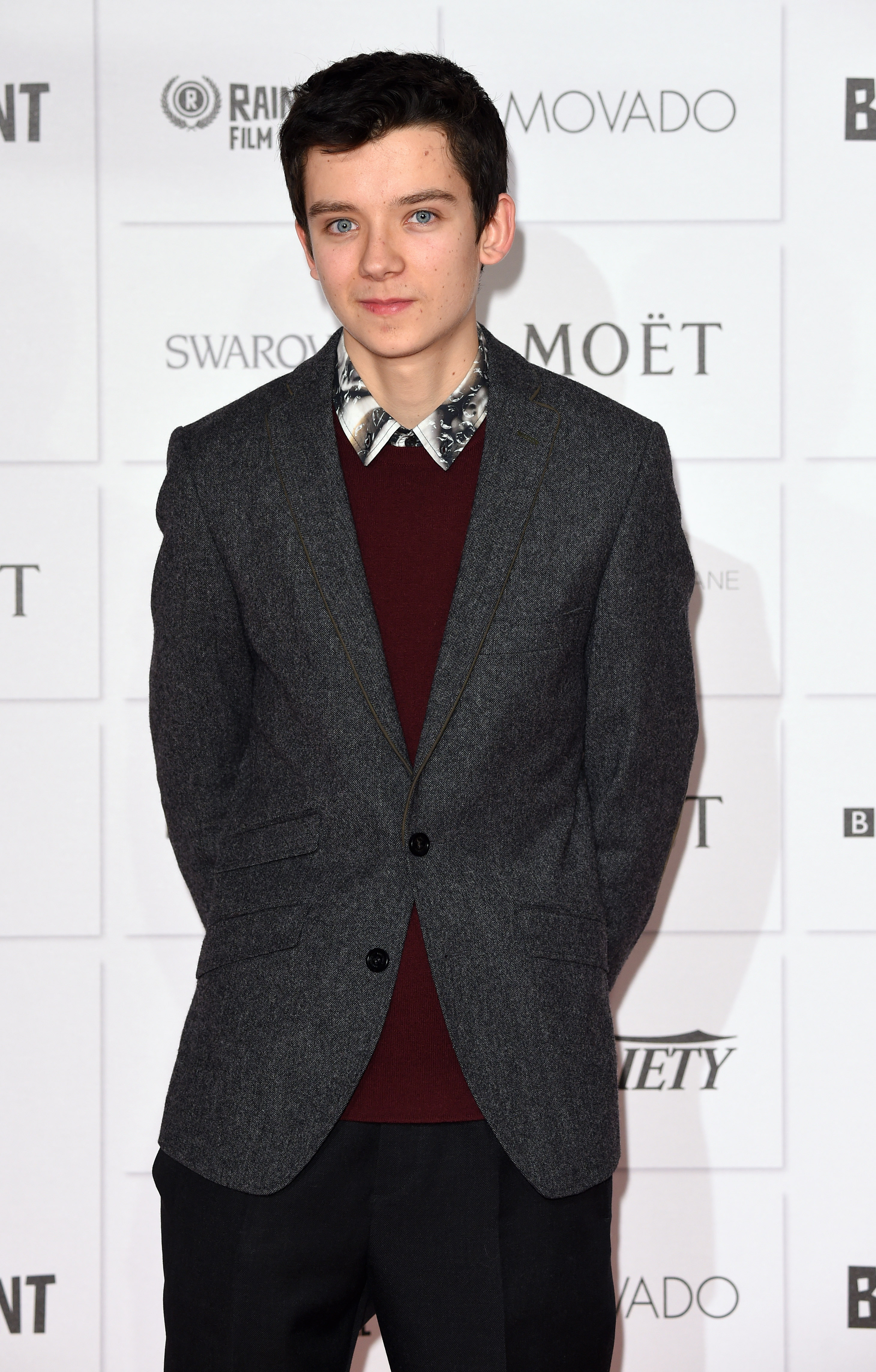 Asa Butterfield attends the Moet British Independent Film Awards on December 7, 2014 in London, England.