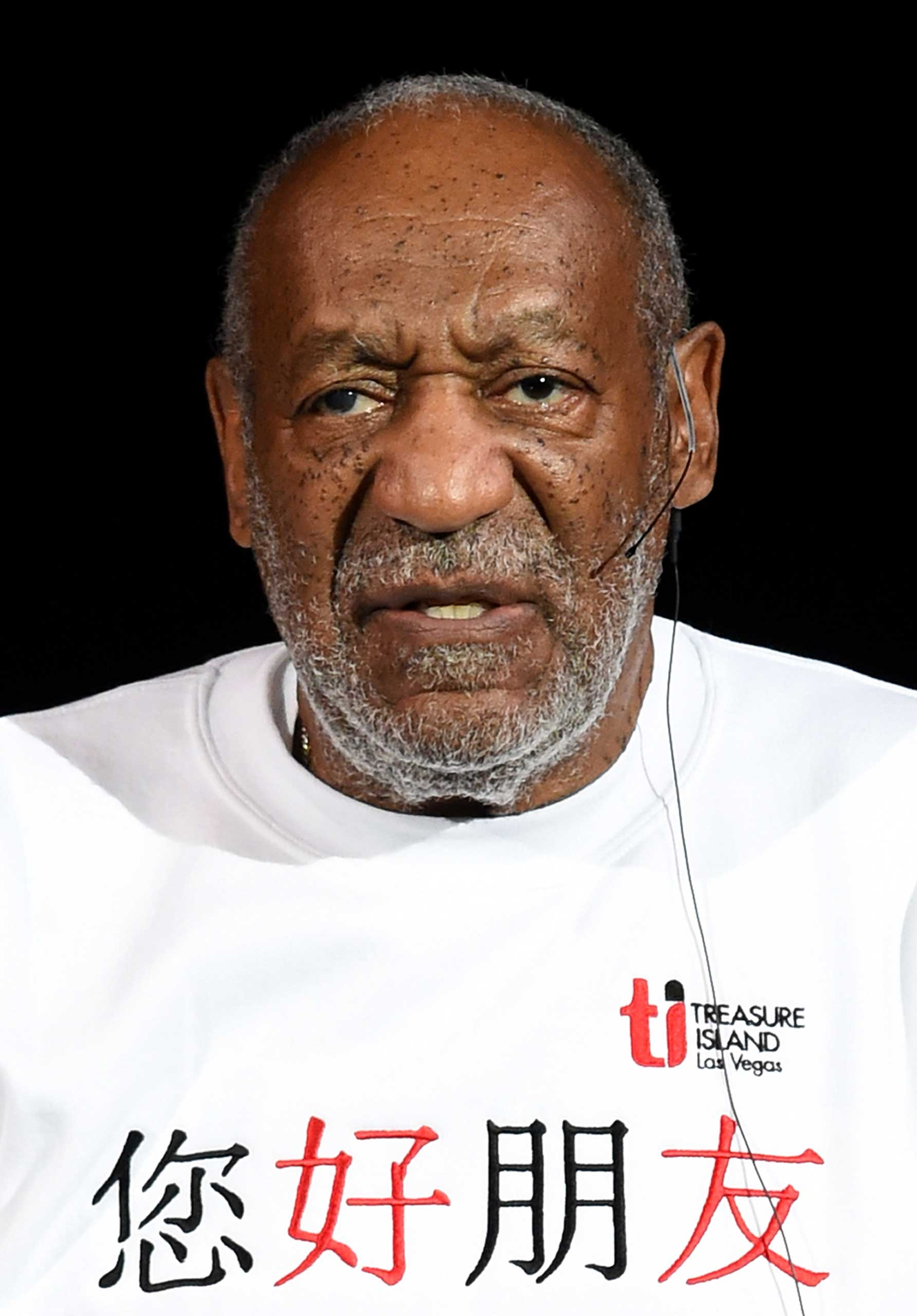Comedian/actor Bill Cosby performs at the Treasure Island Hotel & Casino in Las Vegas, on September 26, 2014