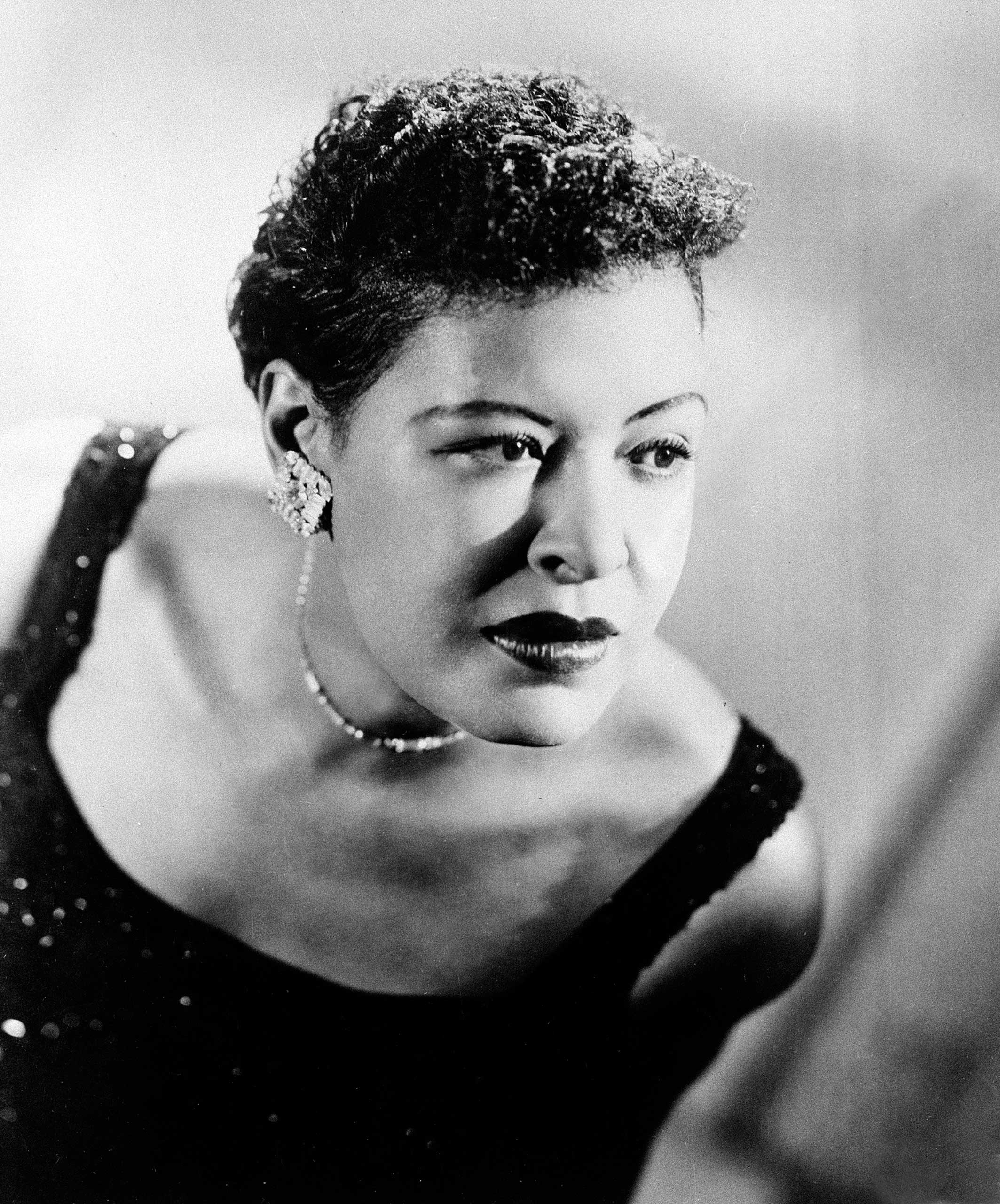 Billie Holiday in 1958.