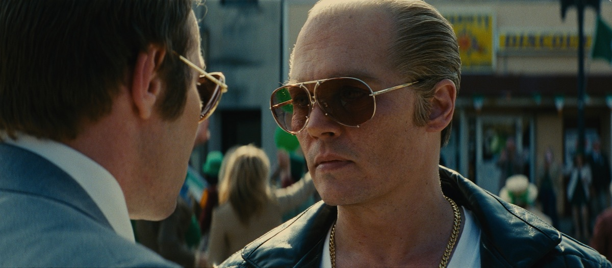 Johnny Depp as Whitey Bulger in 'Black Mass'