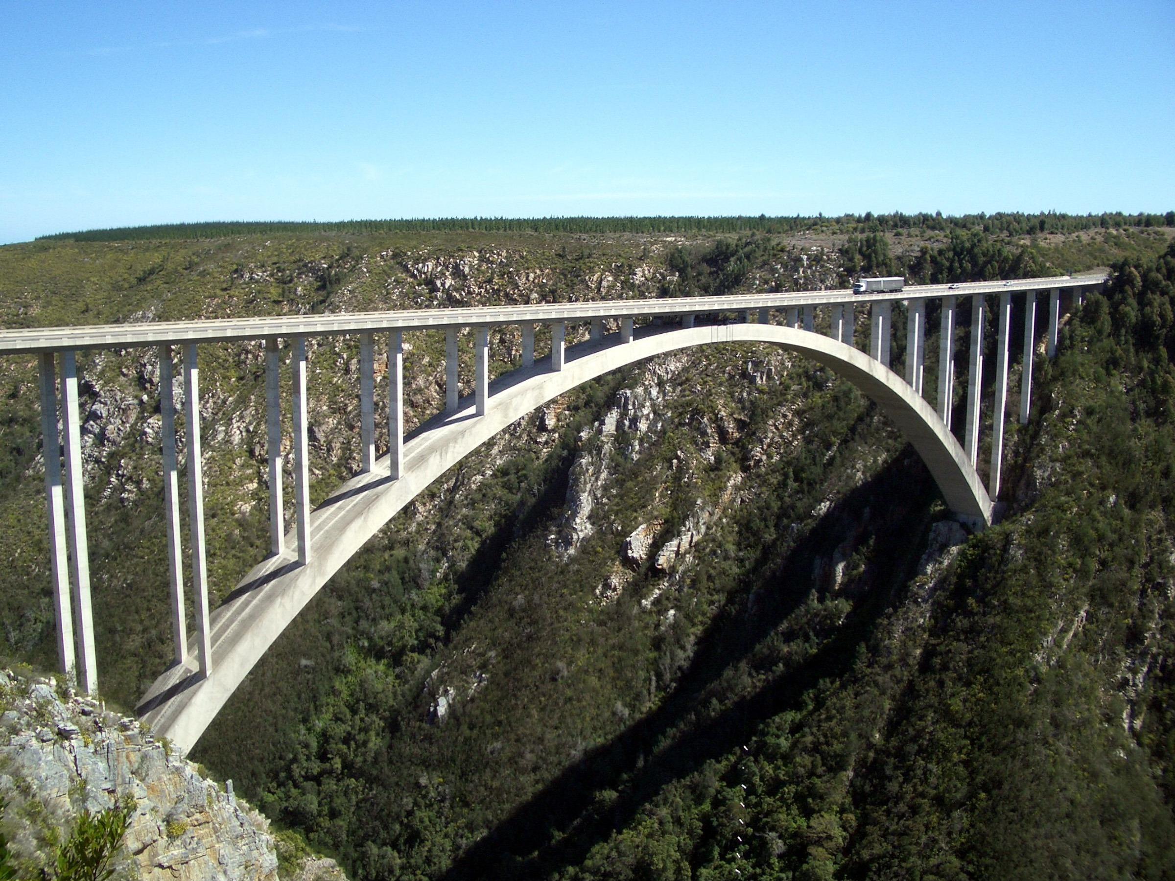South Africa / Tsitsikamma Nationalpark / Garden Route (Eastern Cape): Bloukrans Bridge