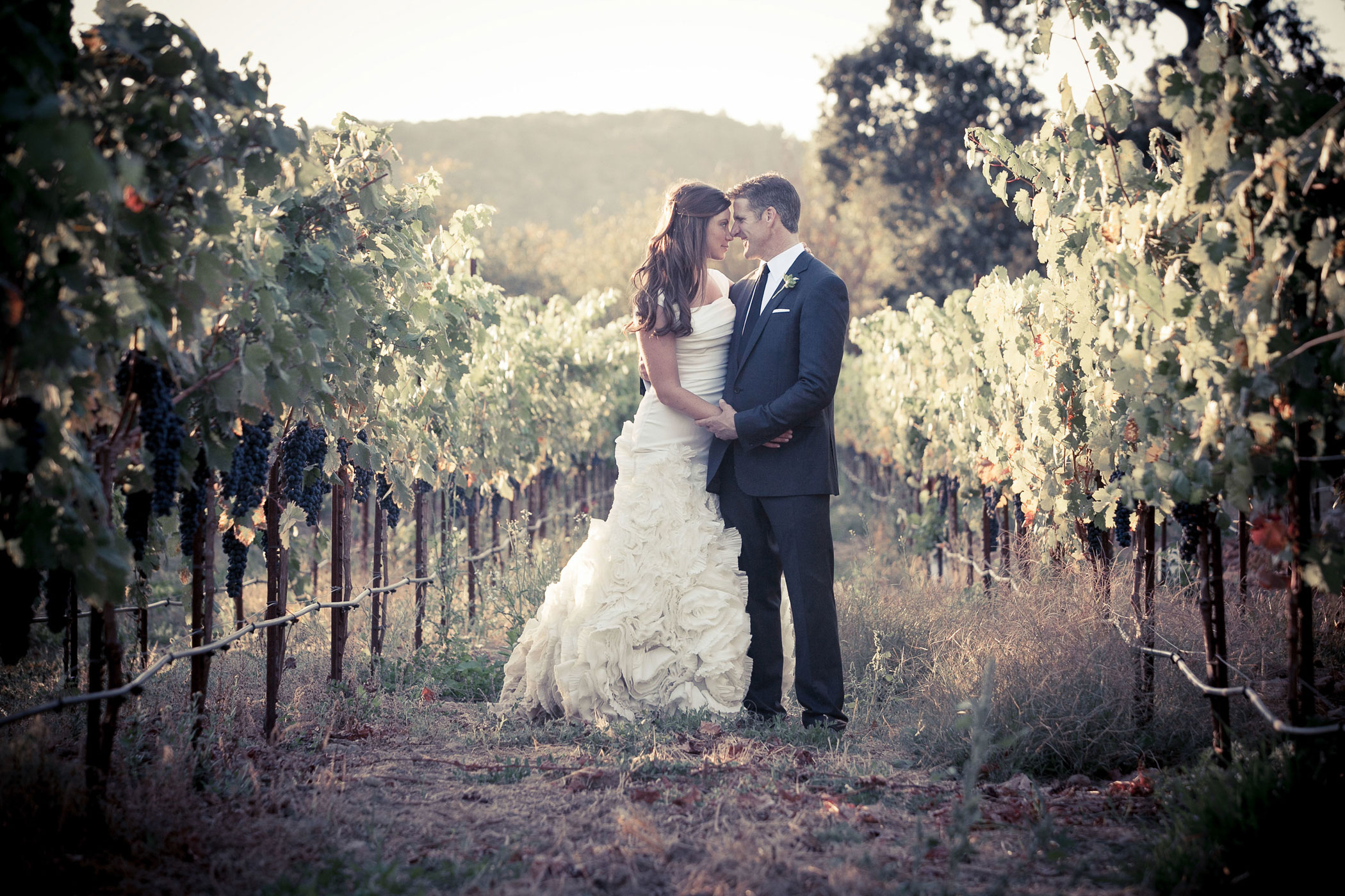 Death-with-dignity advocate Brittany Maynard and husband Dan Diaz at their wedding.