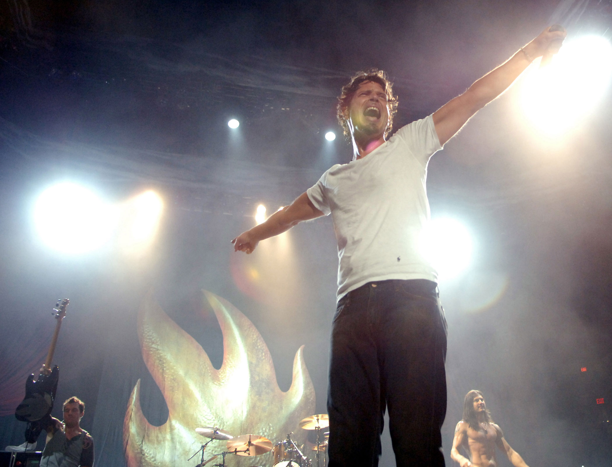 <b>Chris Cornell</b> of the band, Audioslave, sang the theme song for <i>Casino Royale</i>.