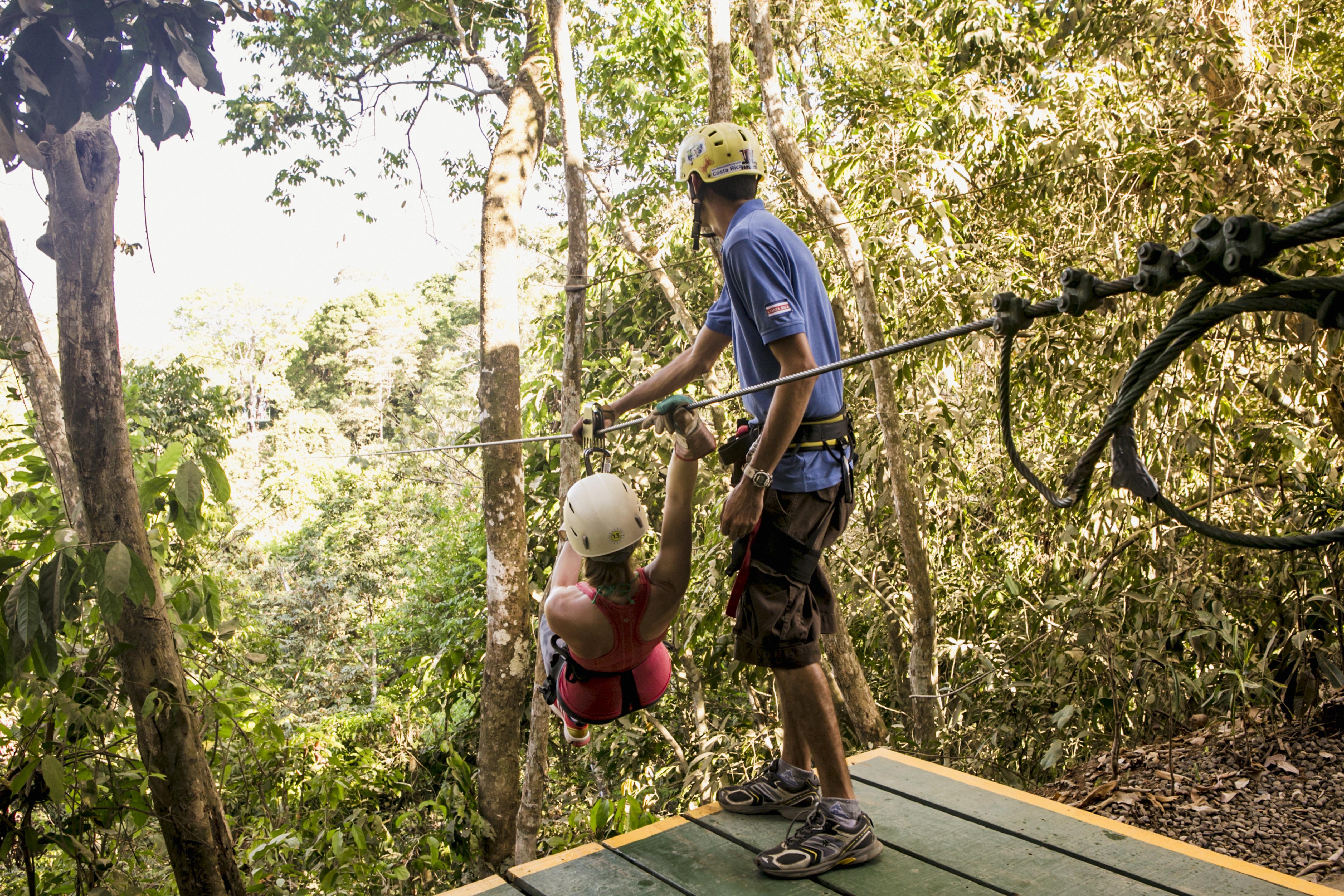 Costa Rica Zip Line Tour
