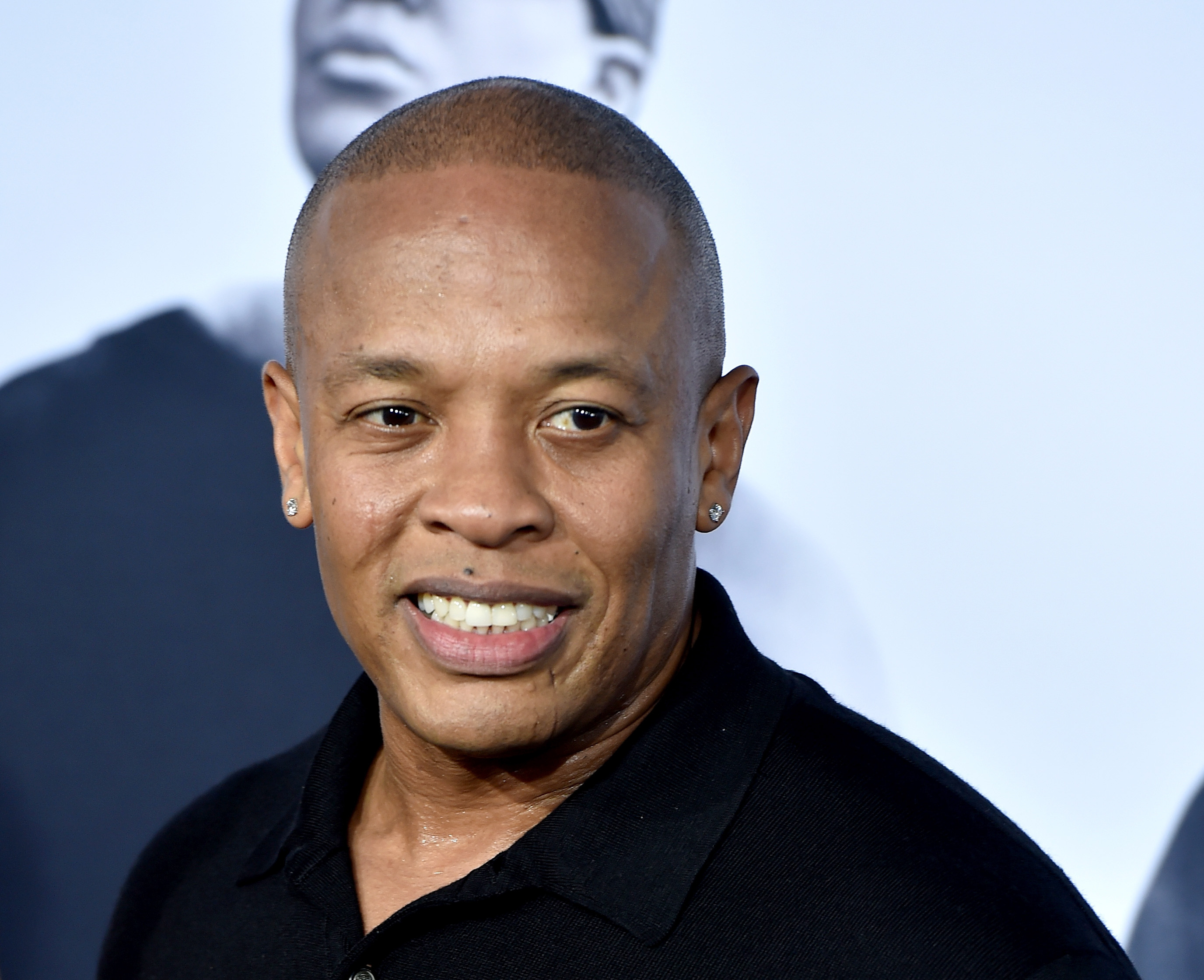 Rapper Dr. Dre arrives at the premiere of Universal Pictures and Legendary Pictures'  Straight Outta Compton  at the Microsoft Theatre in Los Angeles on Aug. 10, 2015