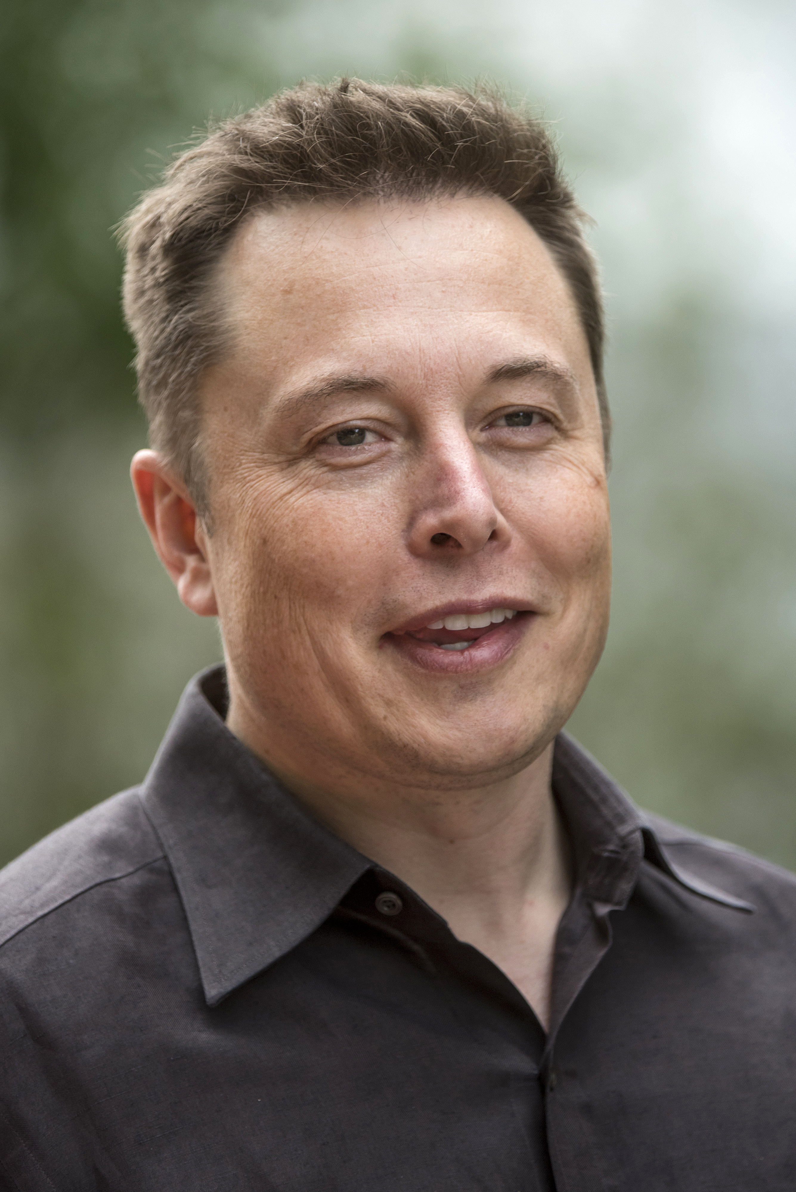 Elon Musk at the Allen & Co. Media and Technology Conference in Sun Valley, Idaho on July 8, 2015.