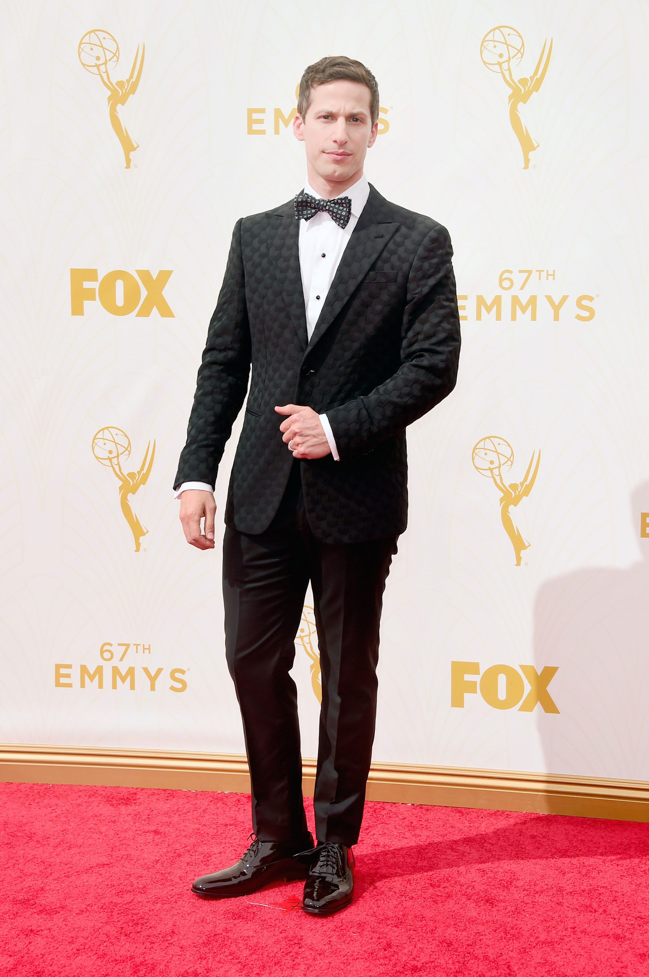 Andy Samberg at the 67th Emmy Award on Sept. 20, 2015 in Los Angeles.