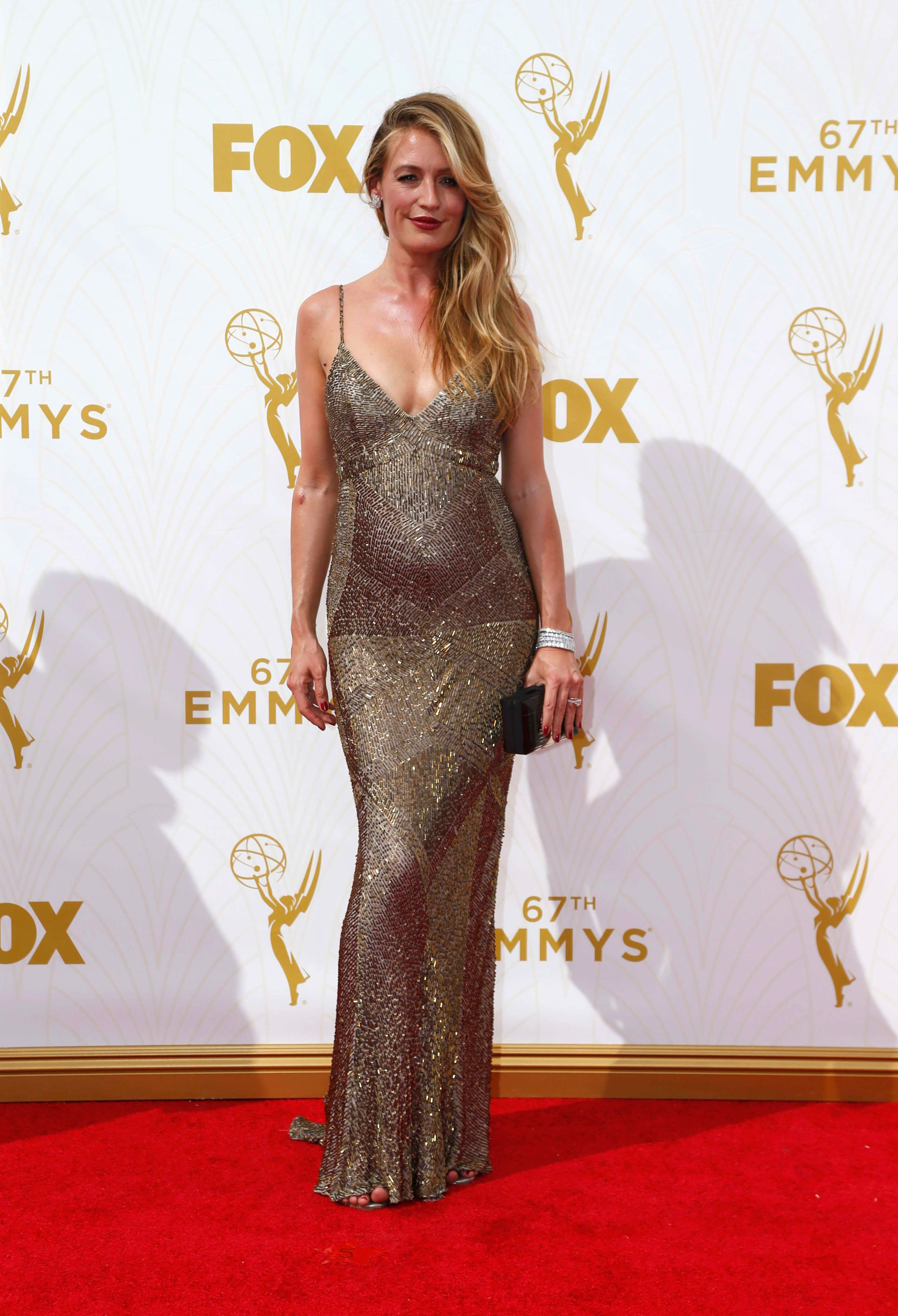 Kat Deeley at the 67th Emmy Award on Sept. 20, 2015 in Los Angeles.