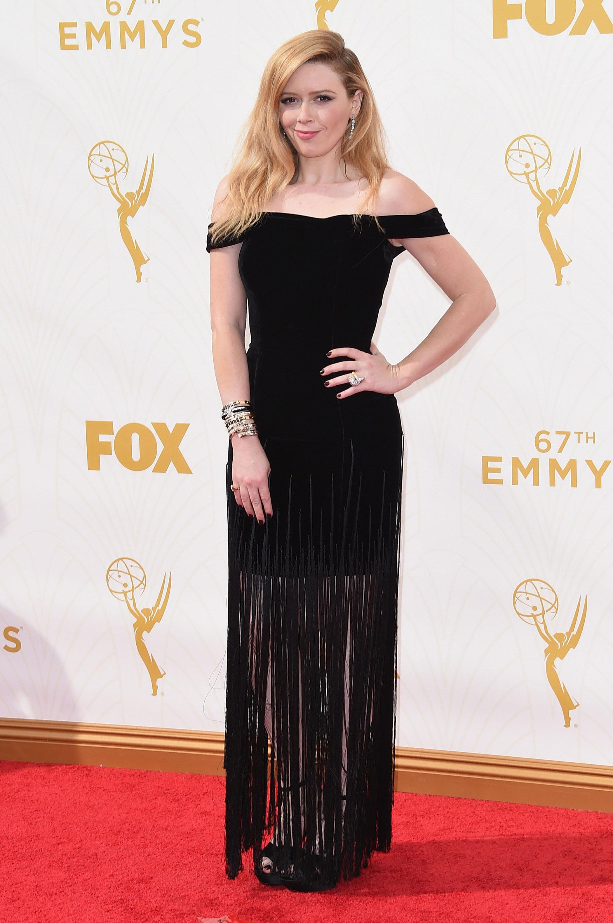 Natasha Lyonne at the 67th Emmy Award on Sept. 20, 2015 in Los Angeles.