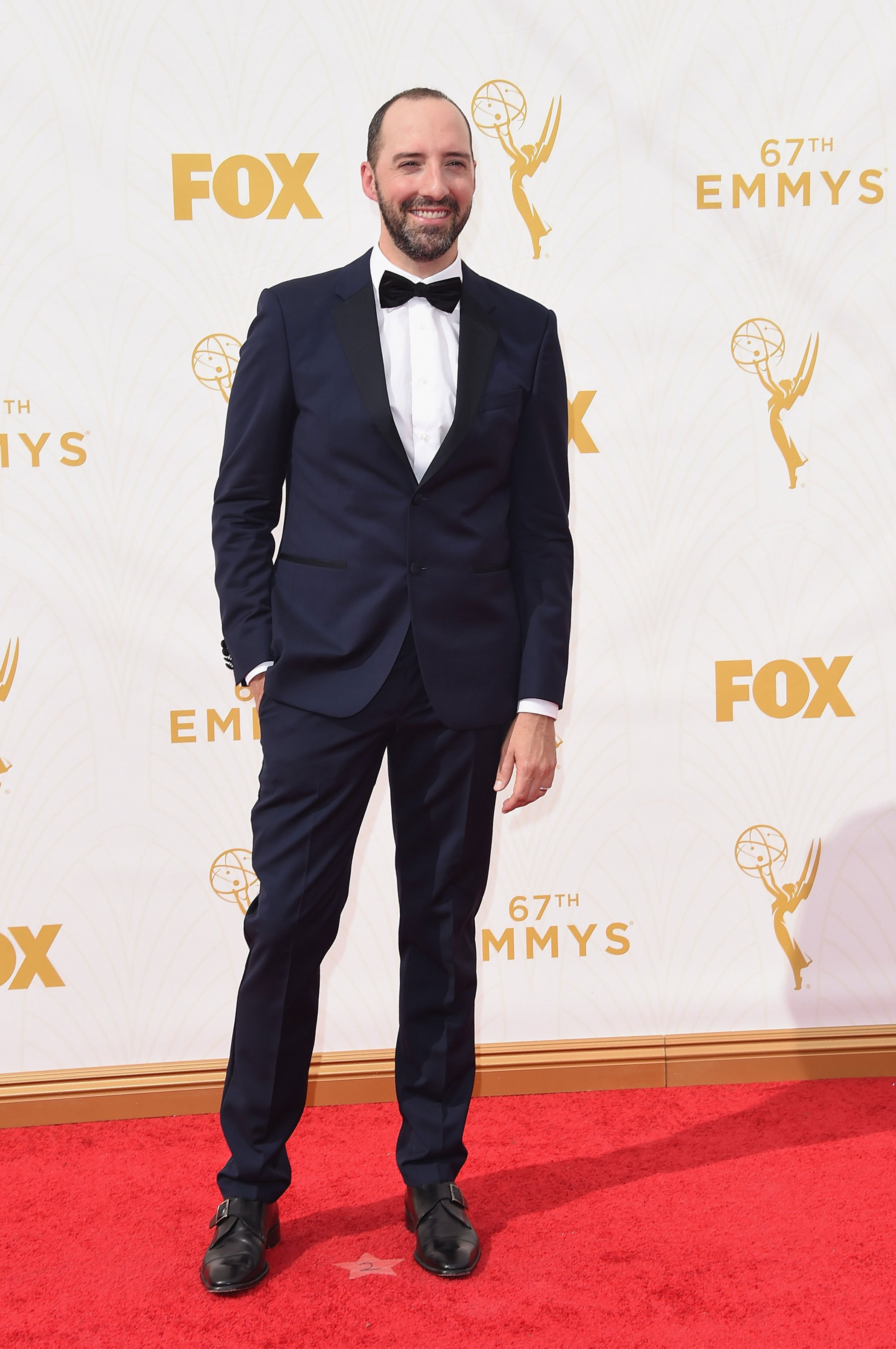 Tony Hale at the 67th Emmy Award on Sept. 20, 2015 in Los Angeles.