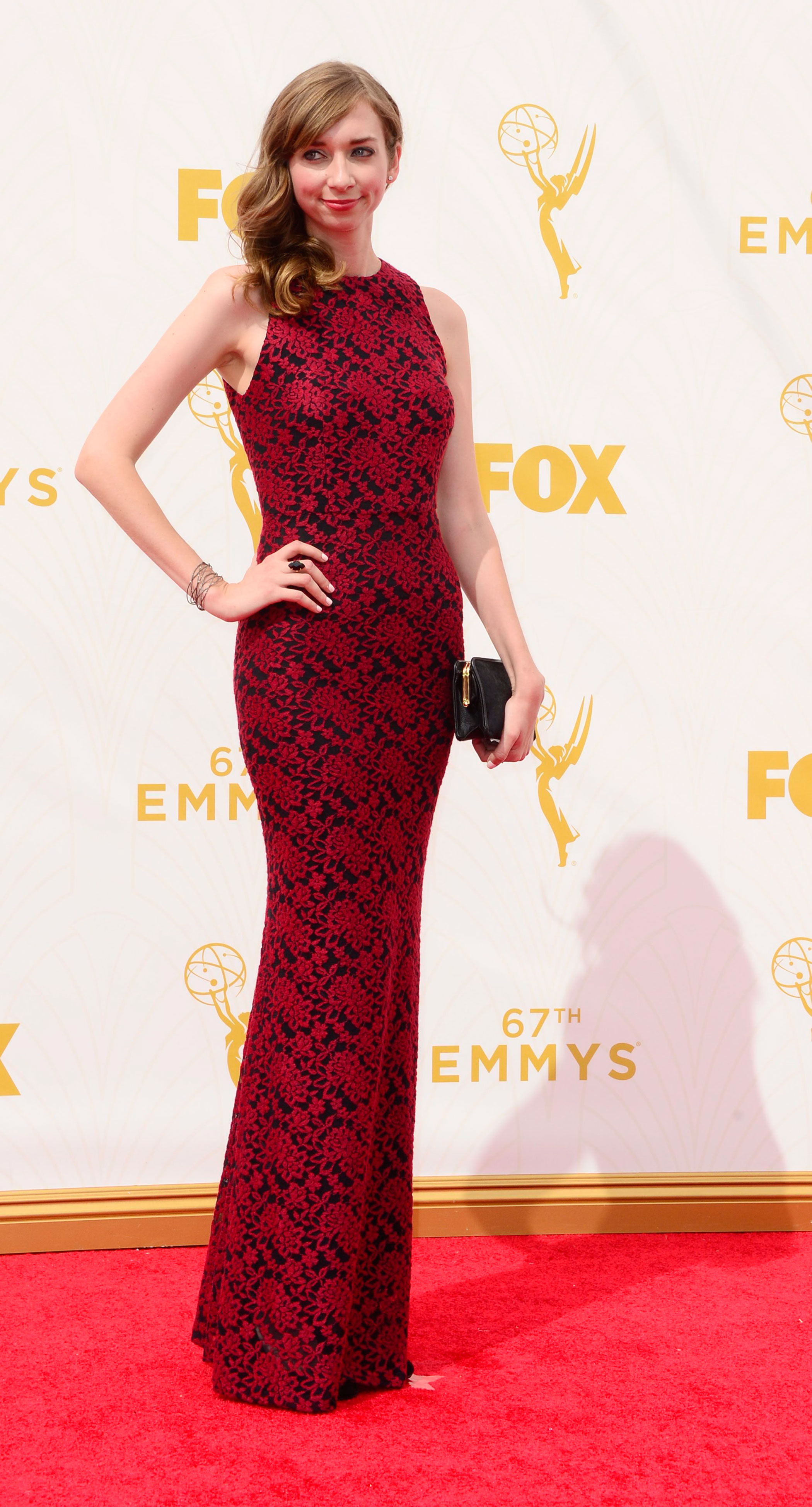 Lauren Lapkus at the 67th Emmy Award on Sept. 20, 2015 in Los Angeles.