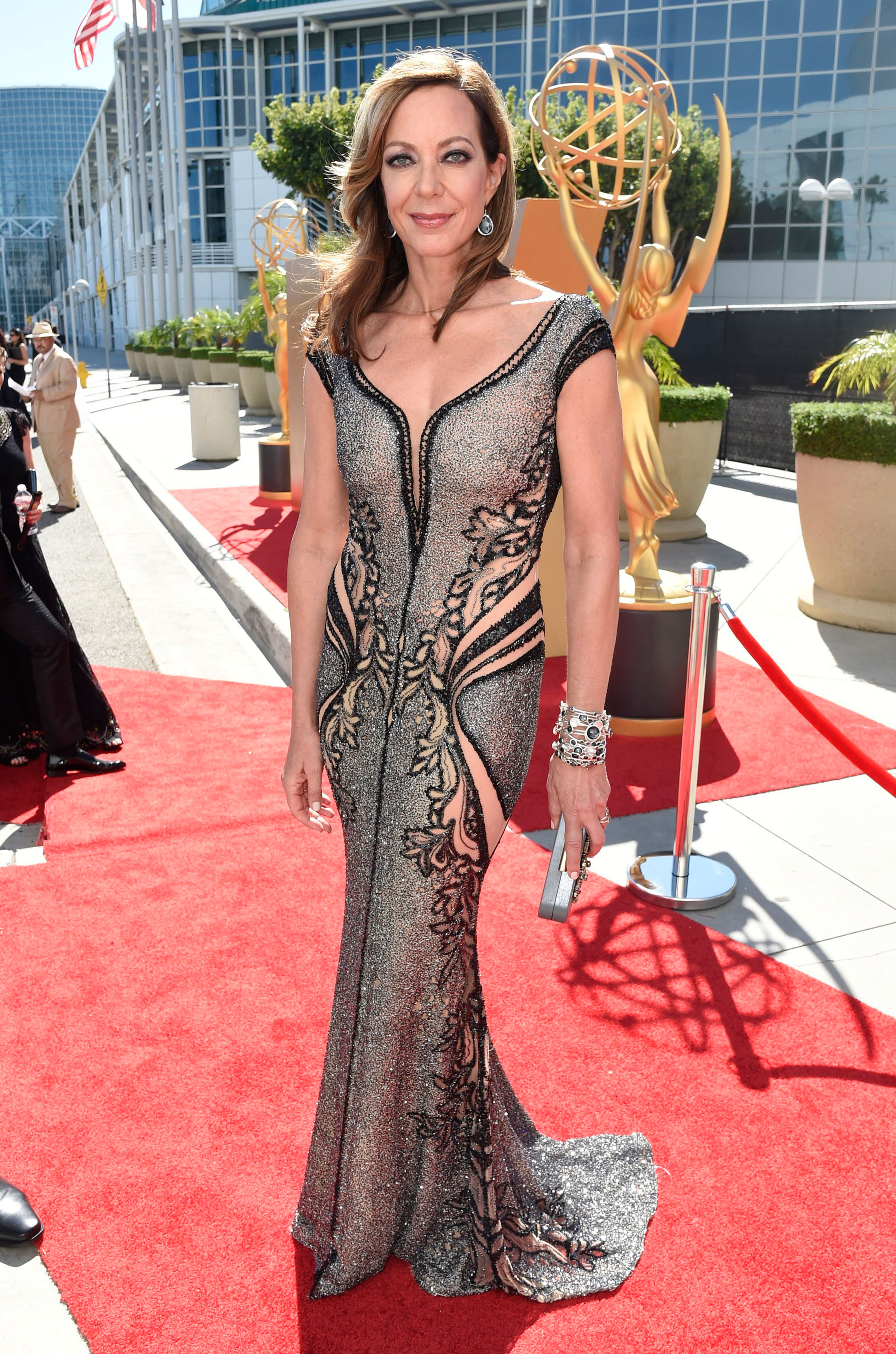 Allison Janney at the 67th Emmy Award on Sept. 20, 2015 in Los Angeles.