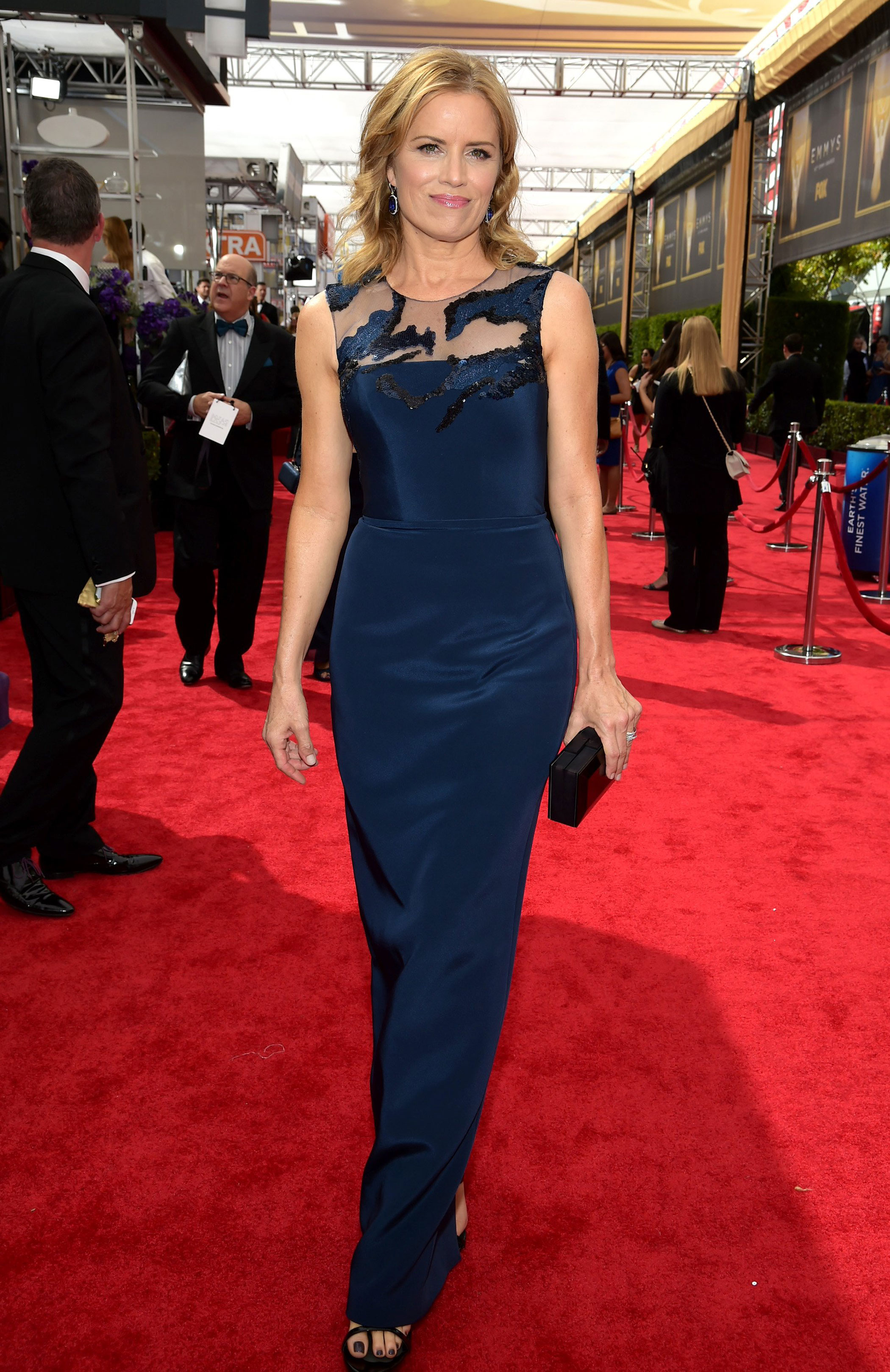 Kim Dickens at the 67th Emmy Award on Sept. 20, 2015 in Los Angeles.