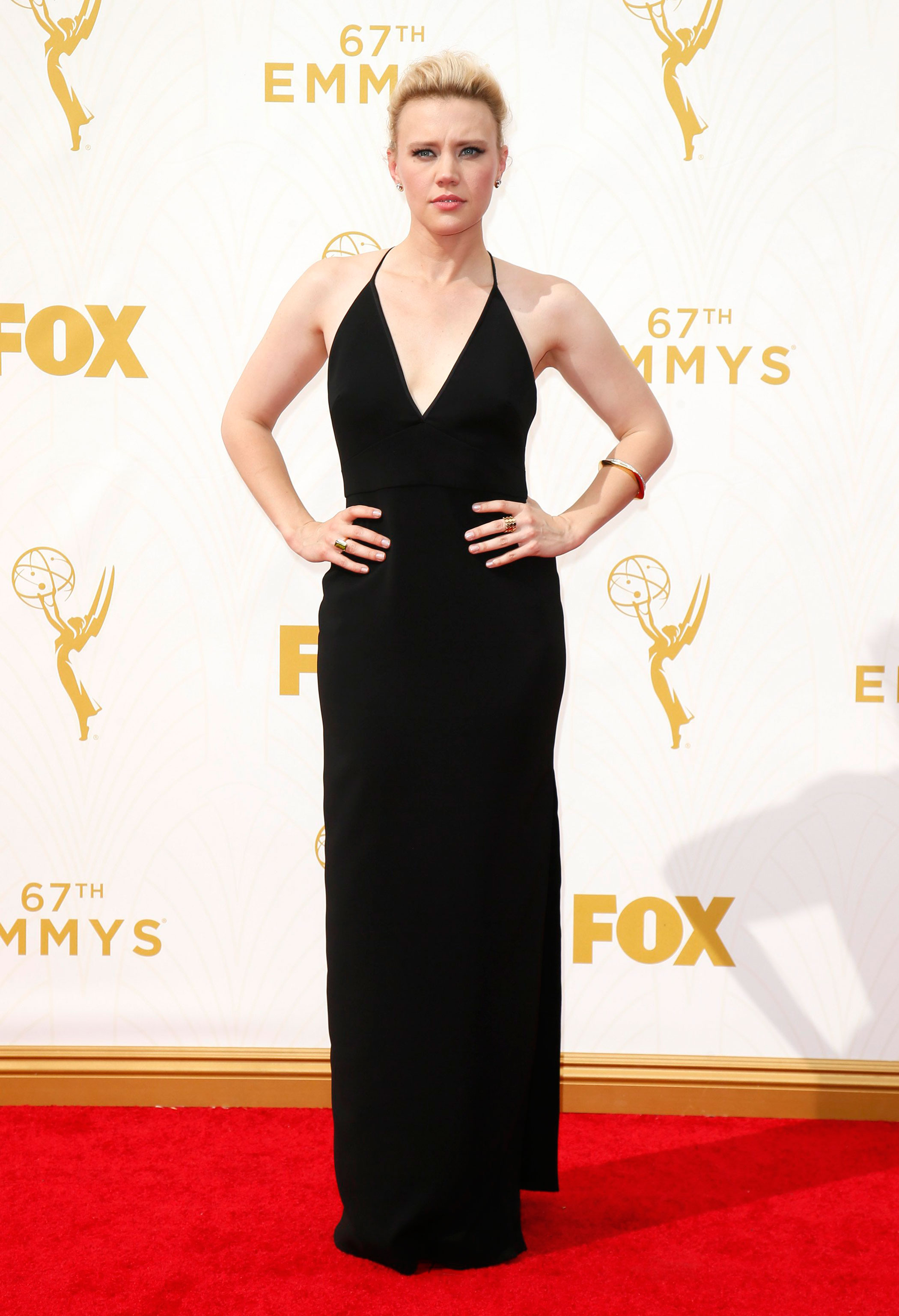 Kate McKinnon at the 67th Emmy Award on Sept. 20, 2015 in Los Angeles.