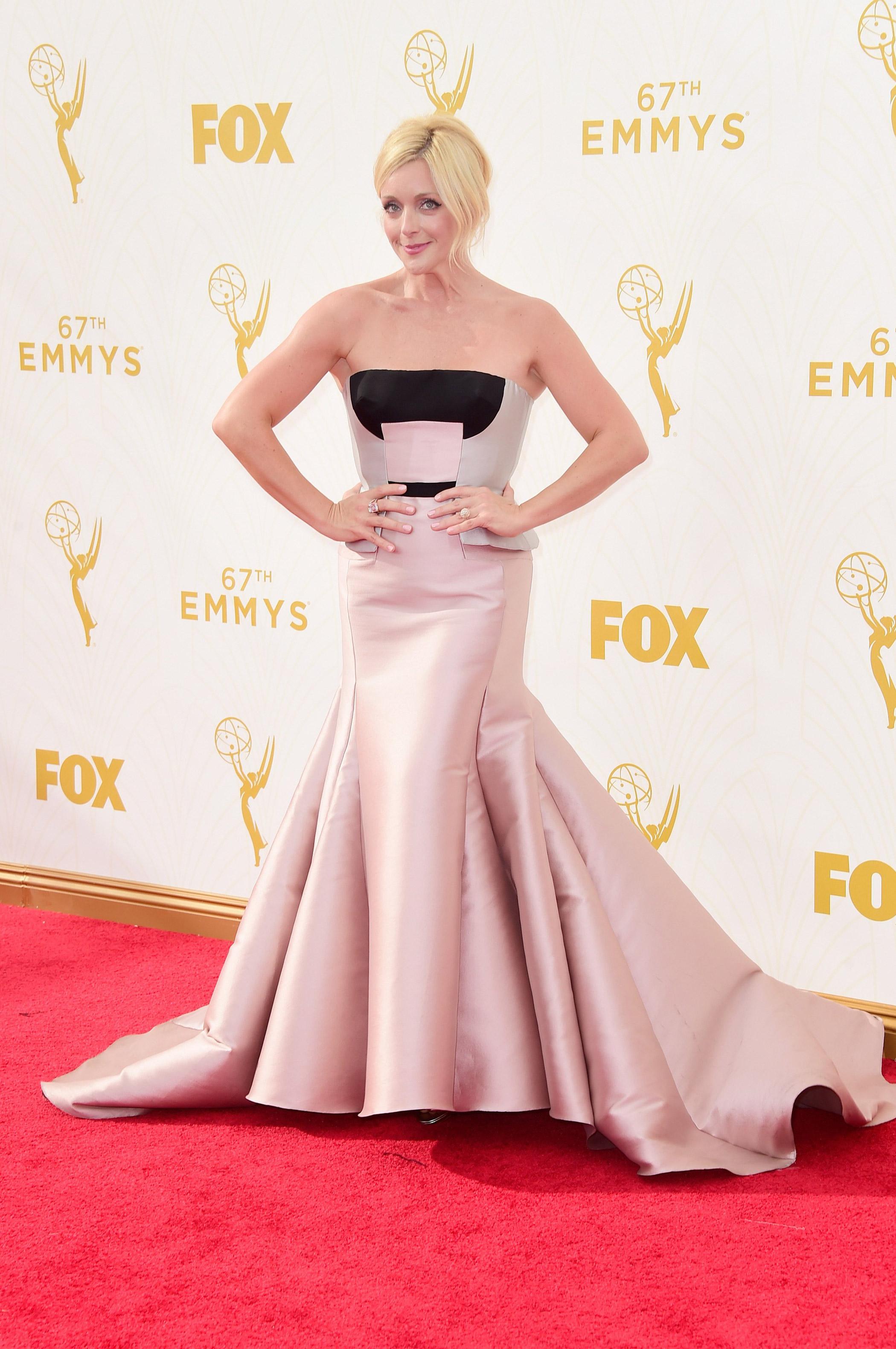 Jane Krakowski at the 67th Emmy Award on Sept. 20, 2015 in Los Angeles.