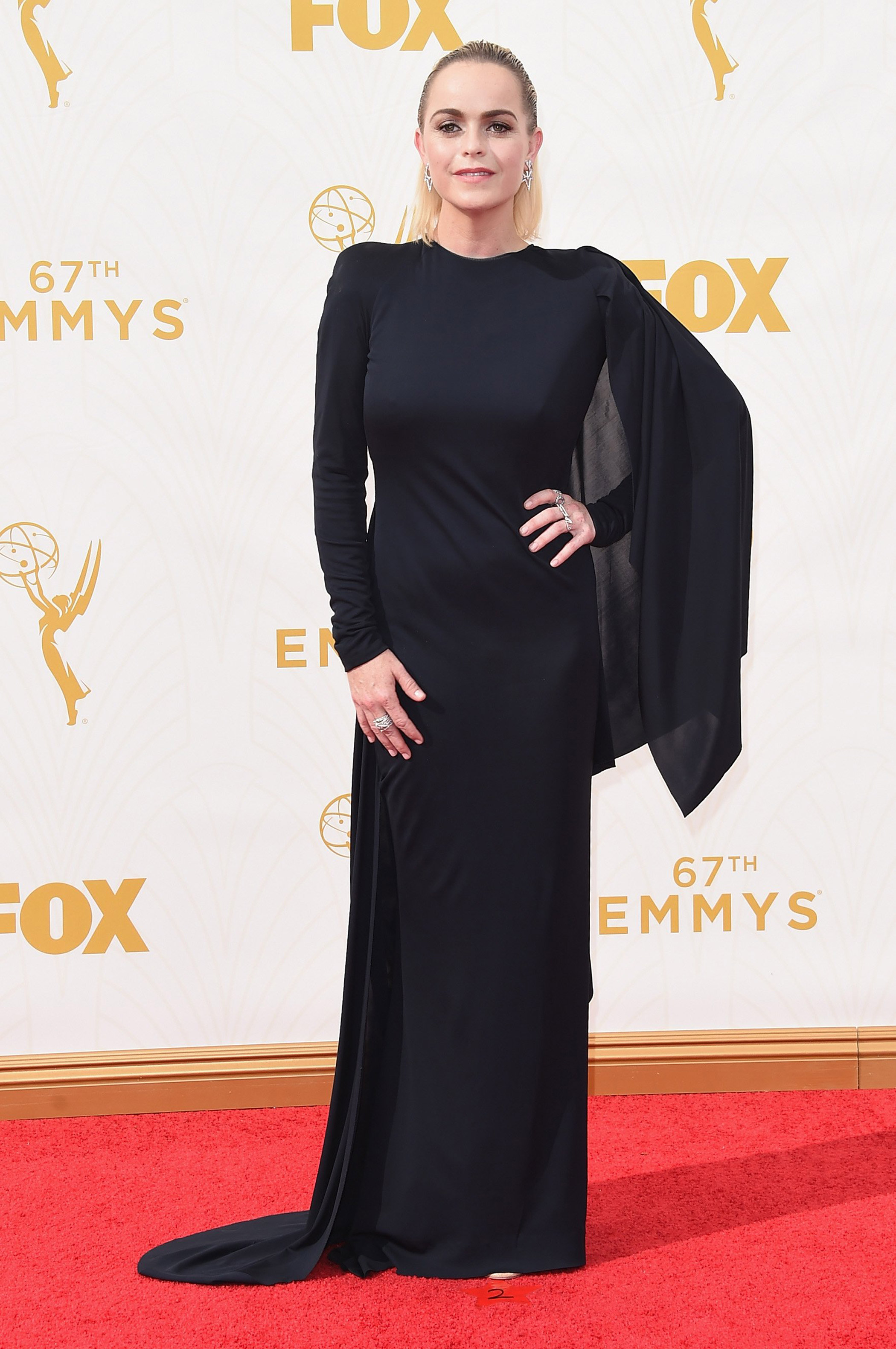 Taryn Manning at the 67th Emmy Award on Sept. 20, 2015 in Los Angeles.