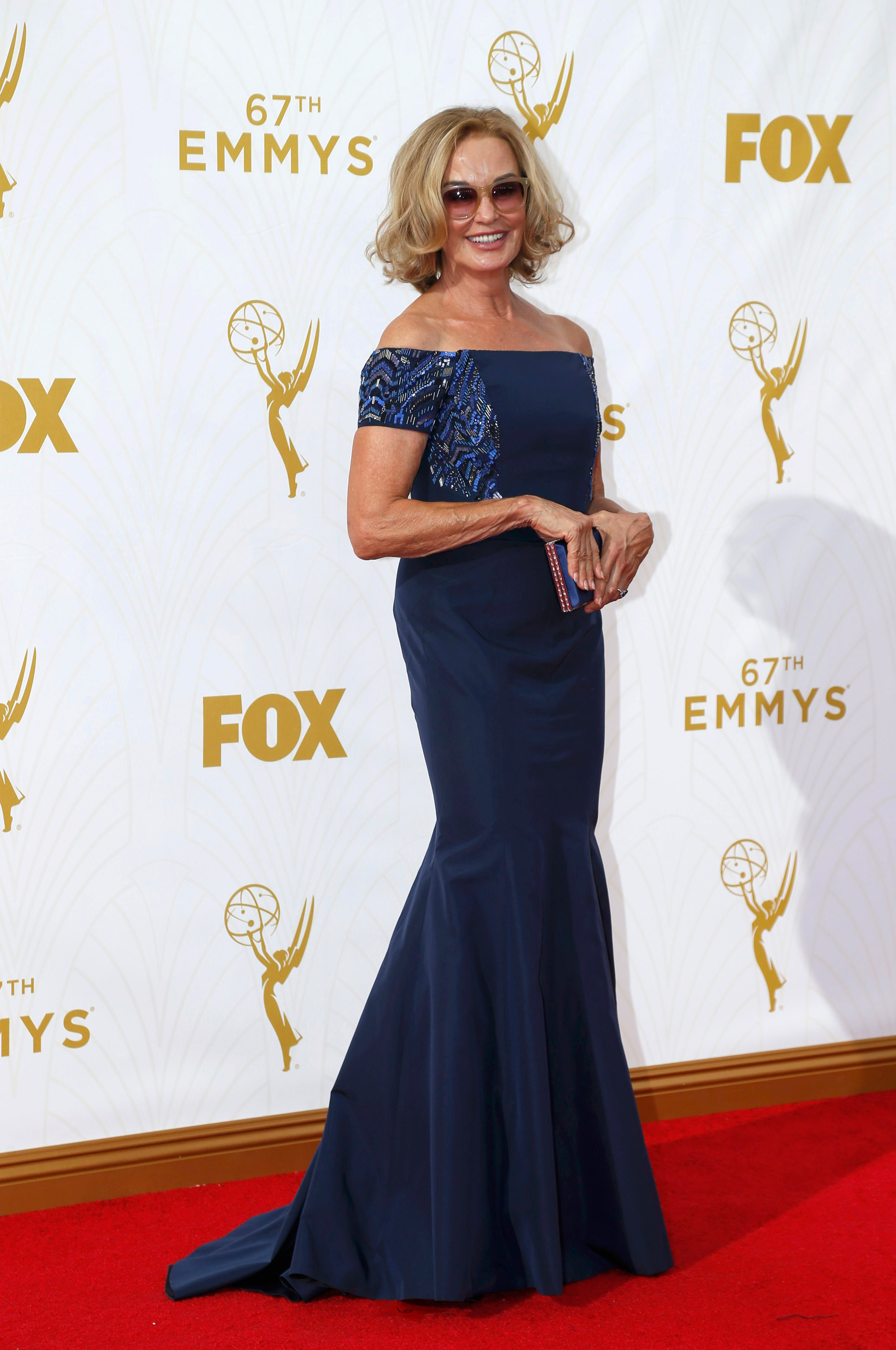 Jessica Lange at the 67th Emmy Award on Sept. 20, 2015 in Los Angeles.